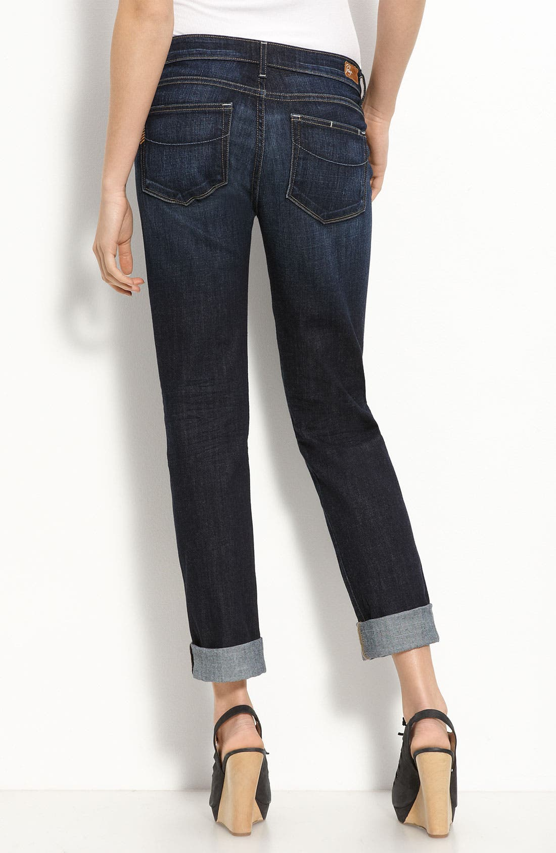 PAIGE, Denim 'Jimmy Jimmy' Stretch Jeans, Alternate thumbnail 2, color, 410