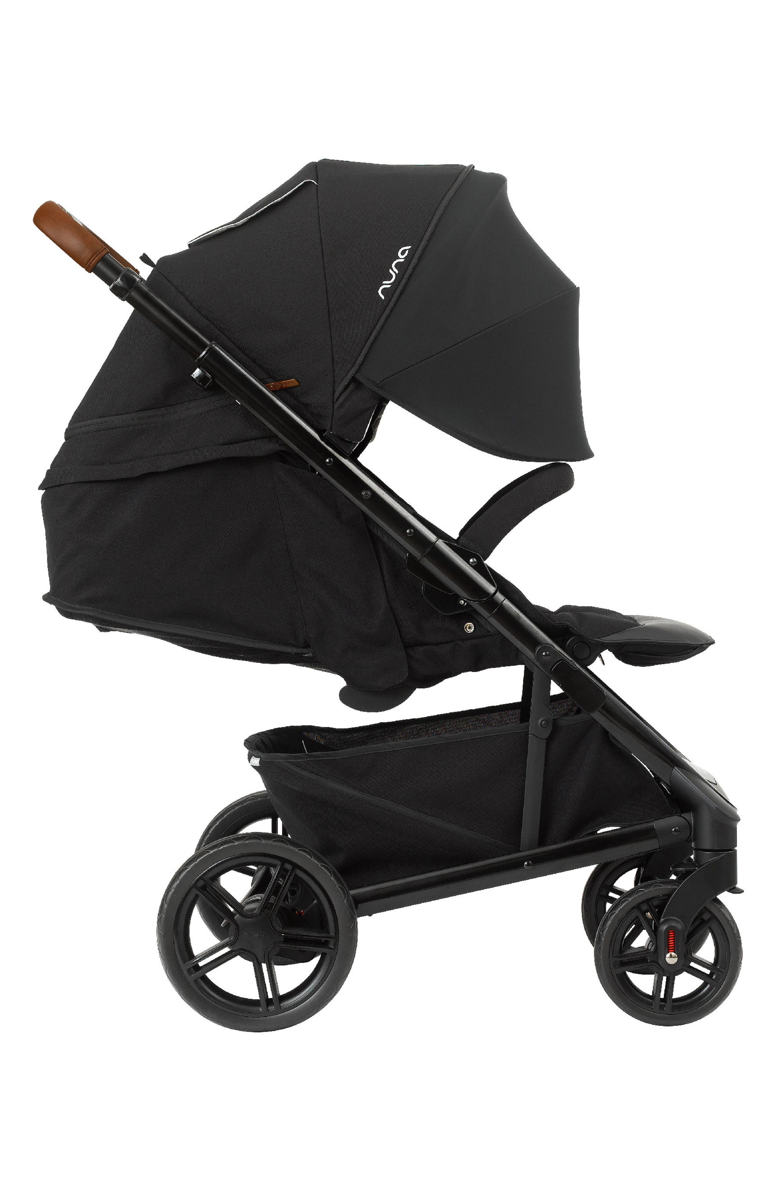 NUNA, 2019 TAVO<sup>™</sup> Stroller & PIPA<sup>™</sup> Lite LX Car Seat Travel System, Alternate thumbnail 7, color, CAVIAR
