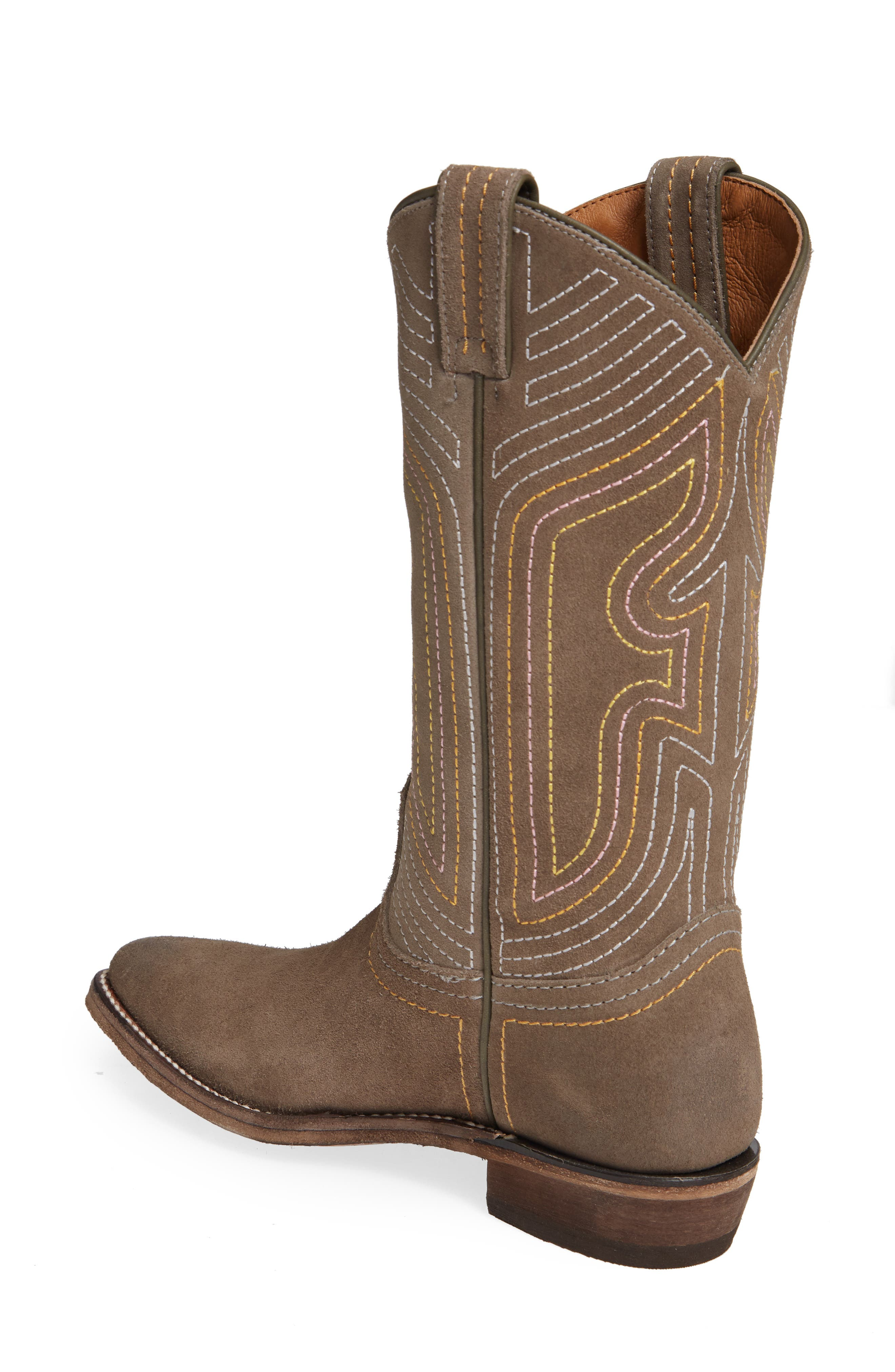 FRYE, Billy Western Boot, Alternate thumbnail 2, color, ELEPHANT