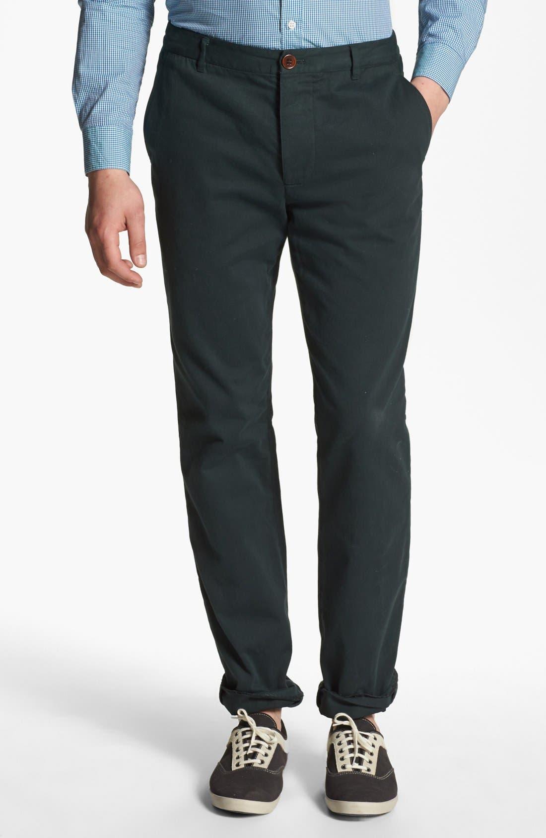 SHIPLEY & HALMOS 'Belmont' Slim Fit Pants, Main, color, 342