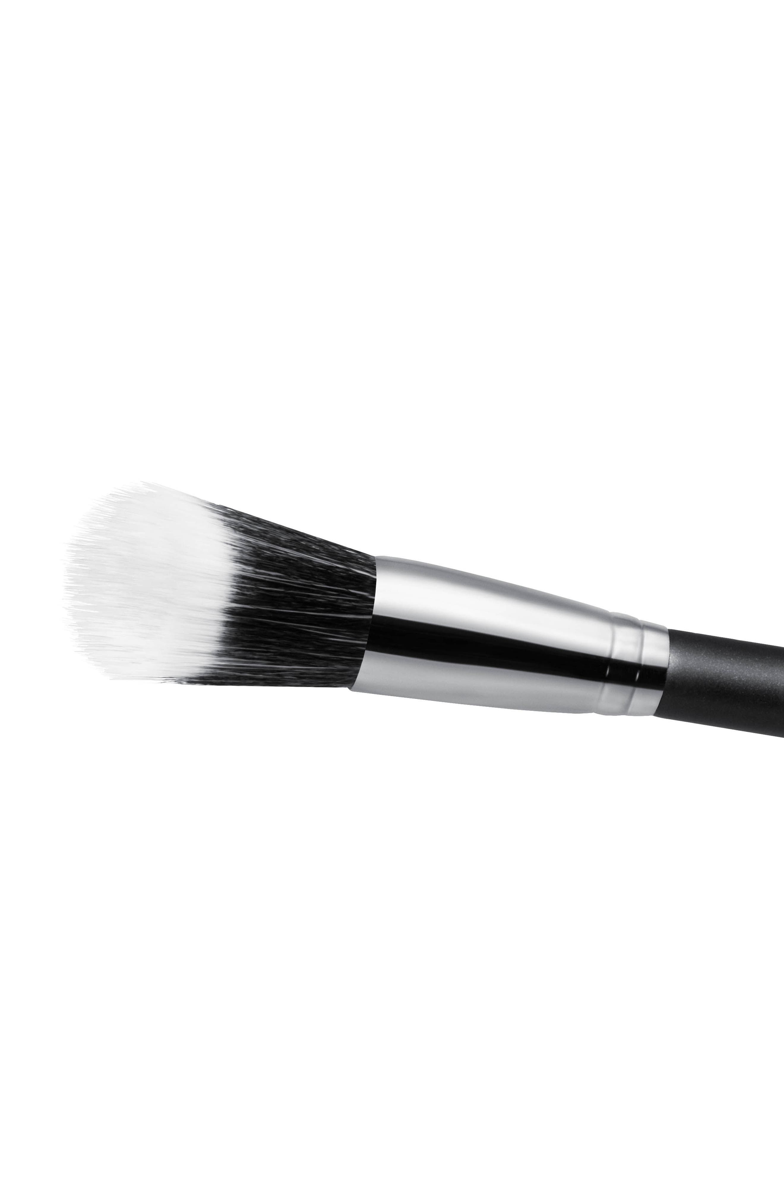 MAC COSMETICS, MAC 161S Synthetic Duo Fibre Face Glider Brush, Alternate thumbnail 2, color, NO COLOR