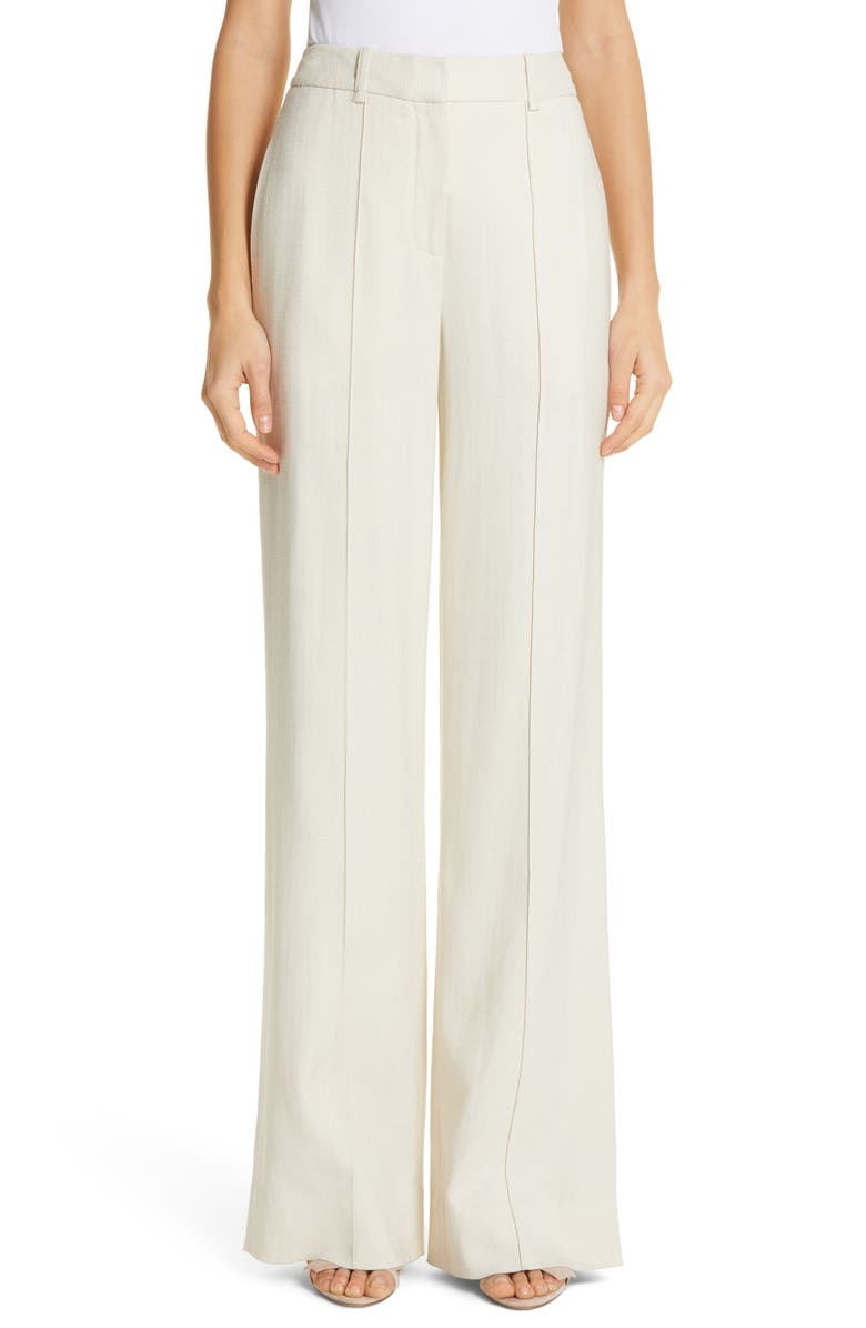 Adam Lippes Pants STRETCH CANVAS WIDE LEG PANTS