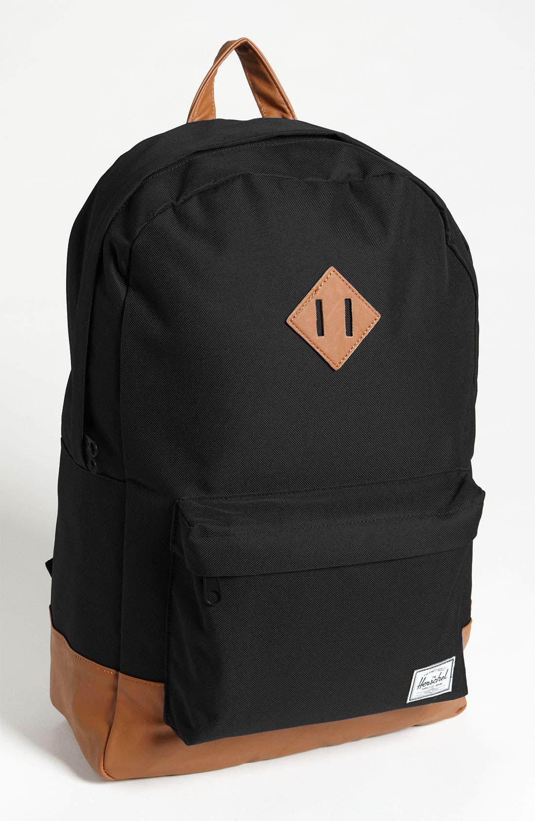 HERSCHEL SUPPLY CO. Heritage Backpack, Main, color, BLACK