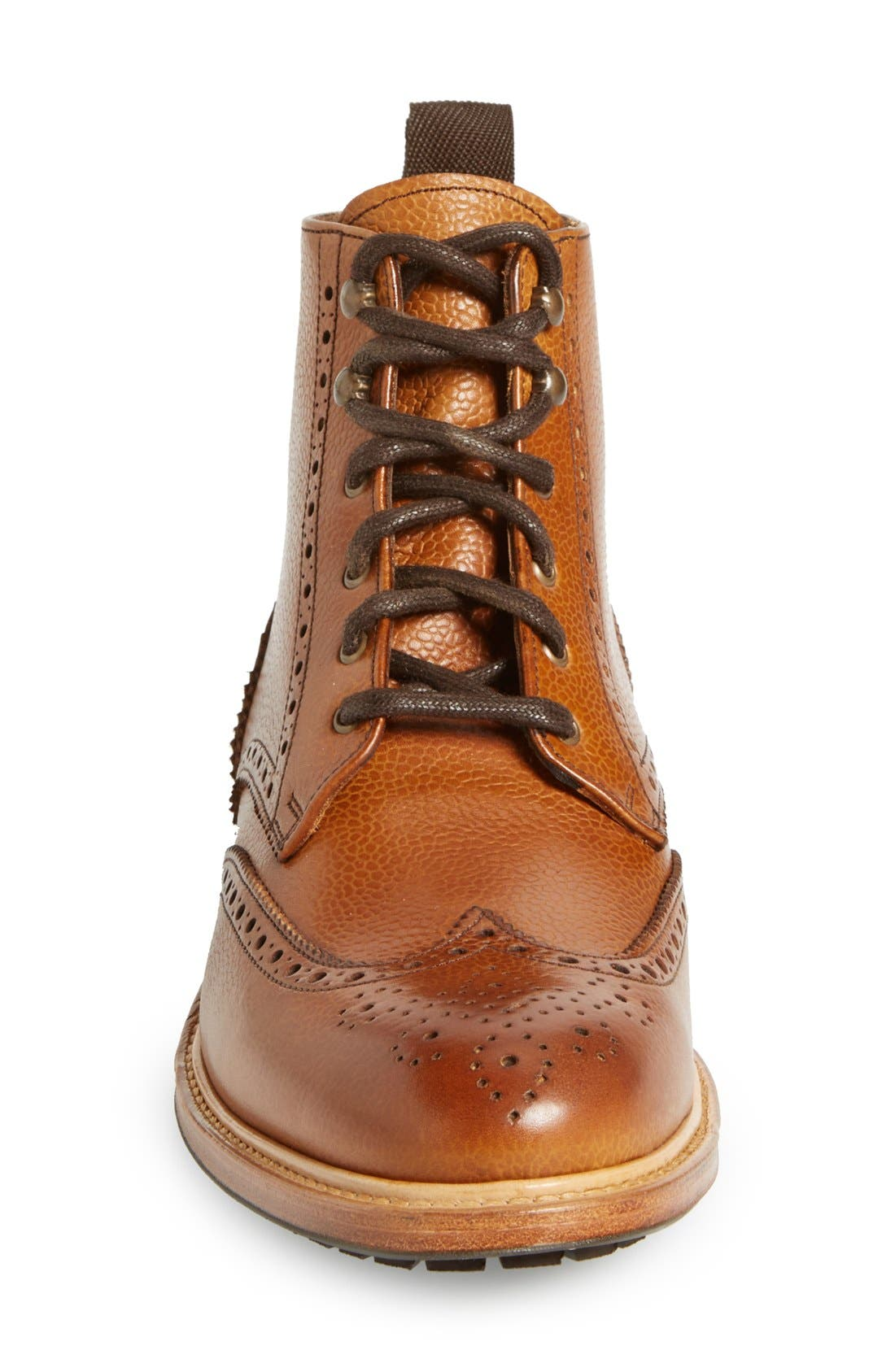 CROSBY SQUARE, 'McCormick' Wingtip Boot, Alternate thumbnail 3, color, 230