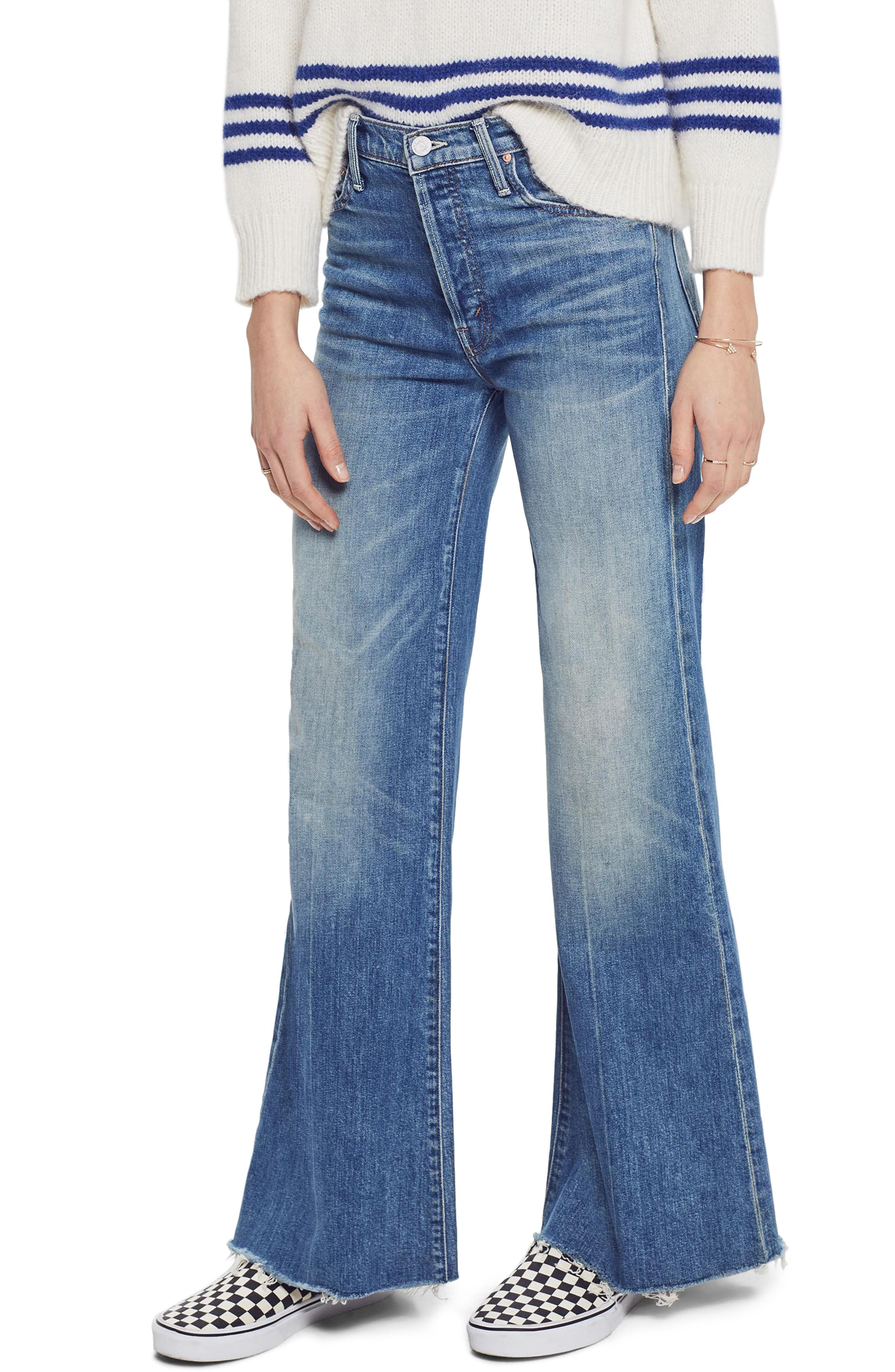 MOTHER The Tomcat Roller Fray Jeans, Main, color, SACRED