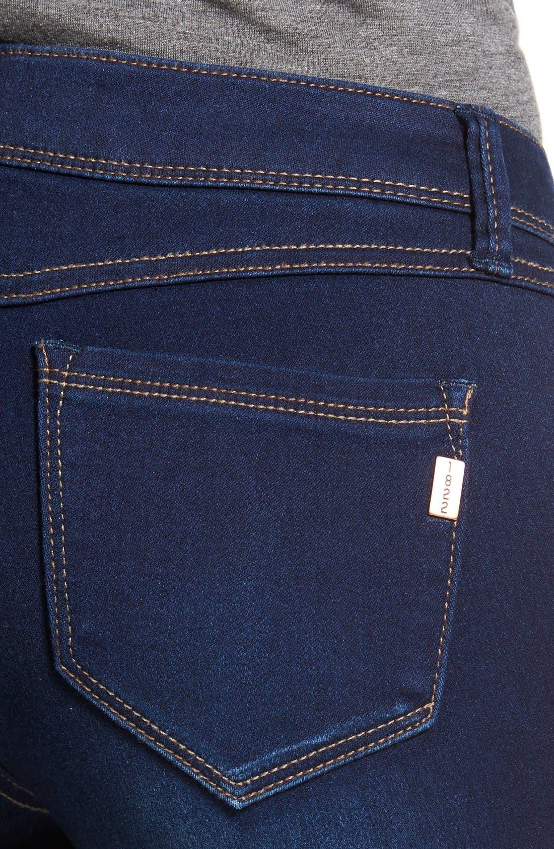 1822 DENIM, Butter Skinny Jeans, Alternate thumbnail 2, color, LENNOX