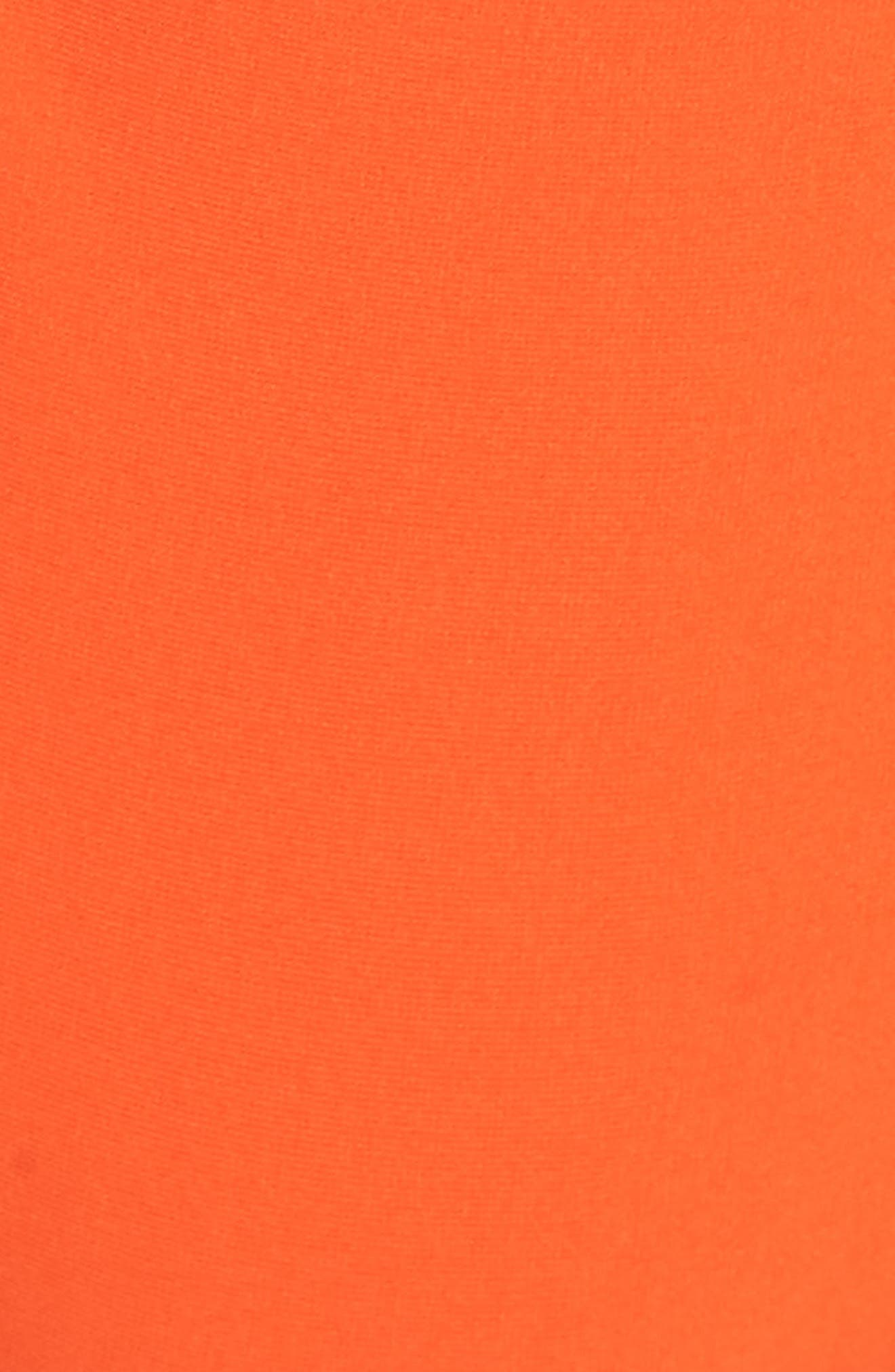 LEITH, Colorblock One-Piece Swimsuit, Alternate thumbnail 5, color, 420