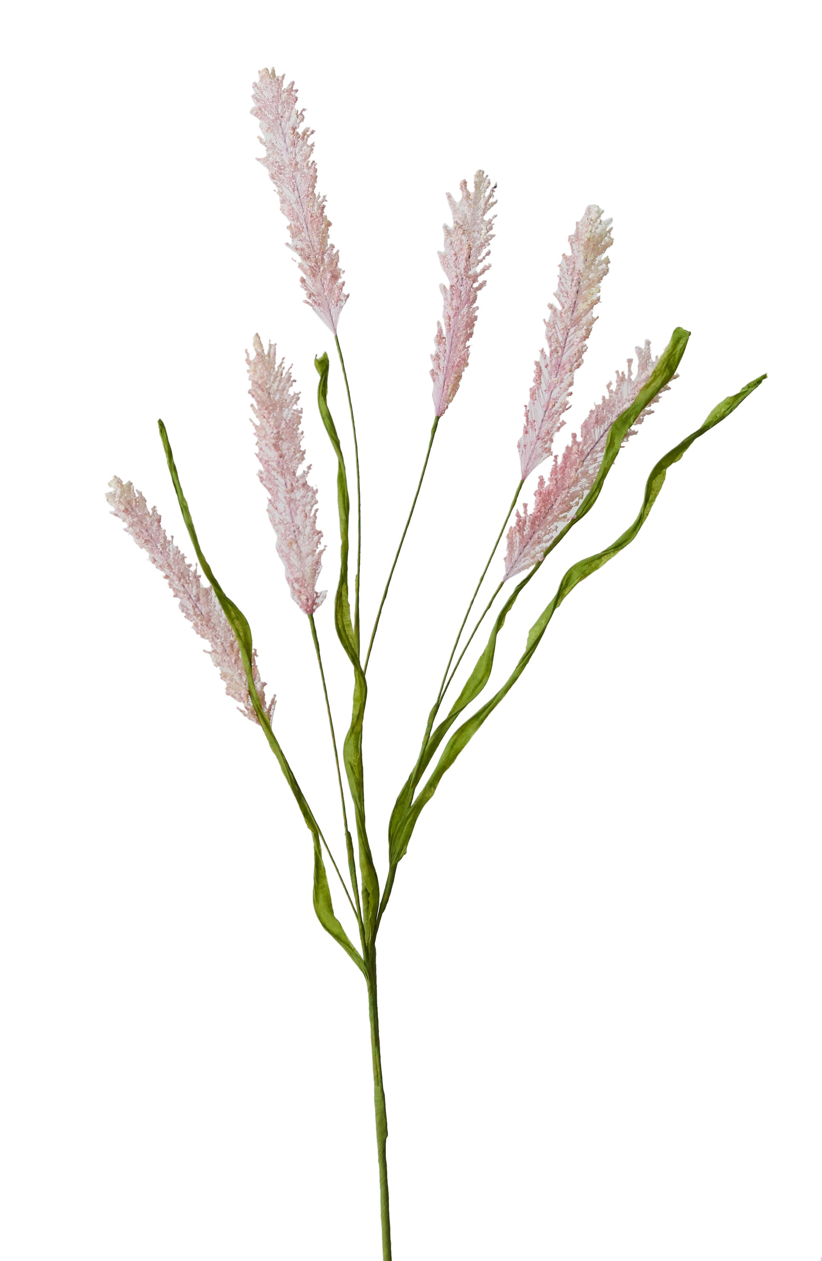 TERRAIN, Faux Floral Grass Spray, Alternate thumbnail 4, color, PINK