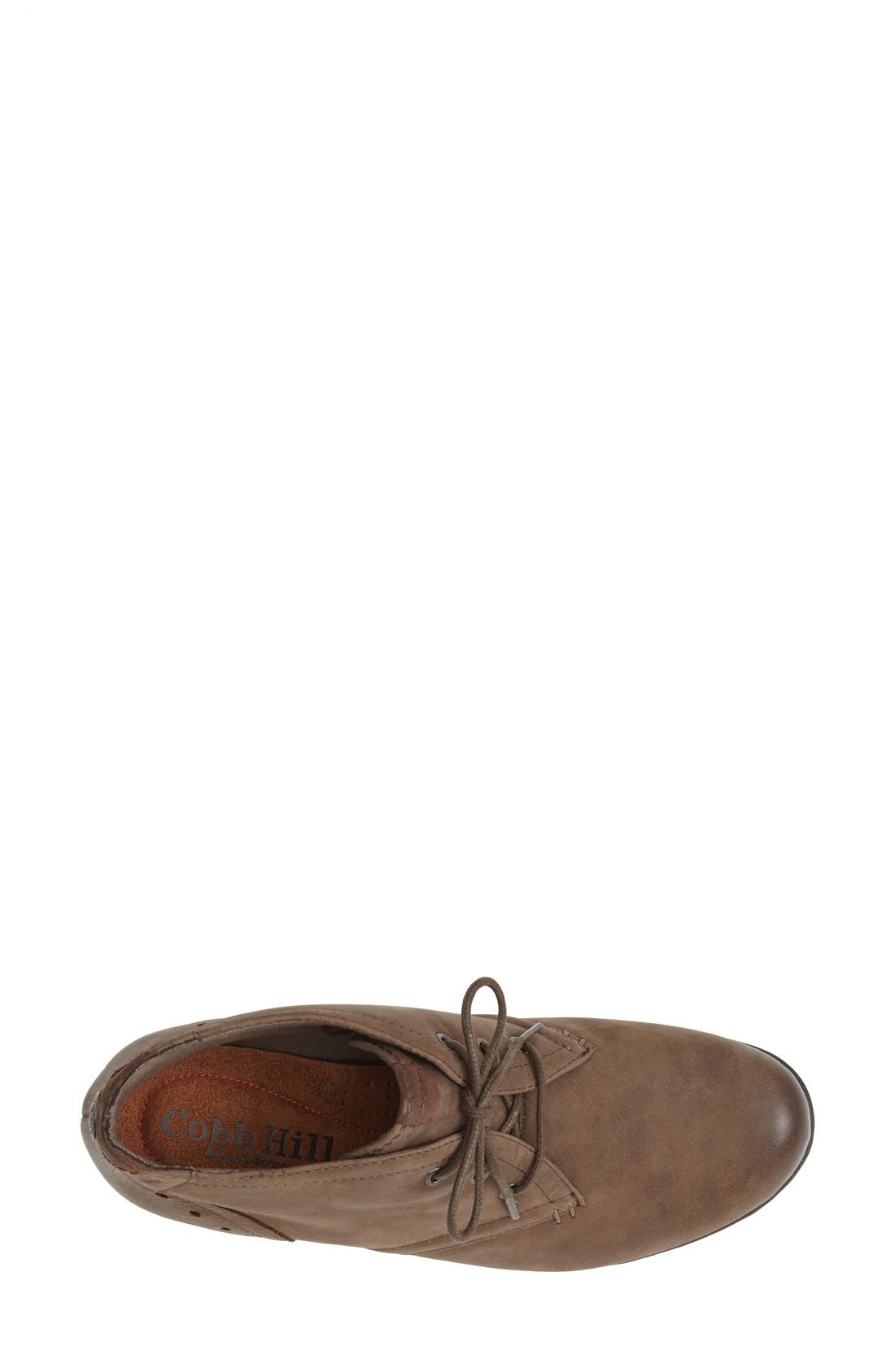 ROCKPORT COBB HILL, Aria Leather Boot, Alternate thumbnail 4, color, STONE