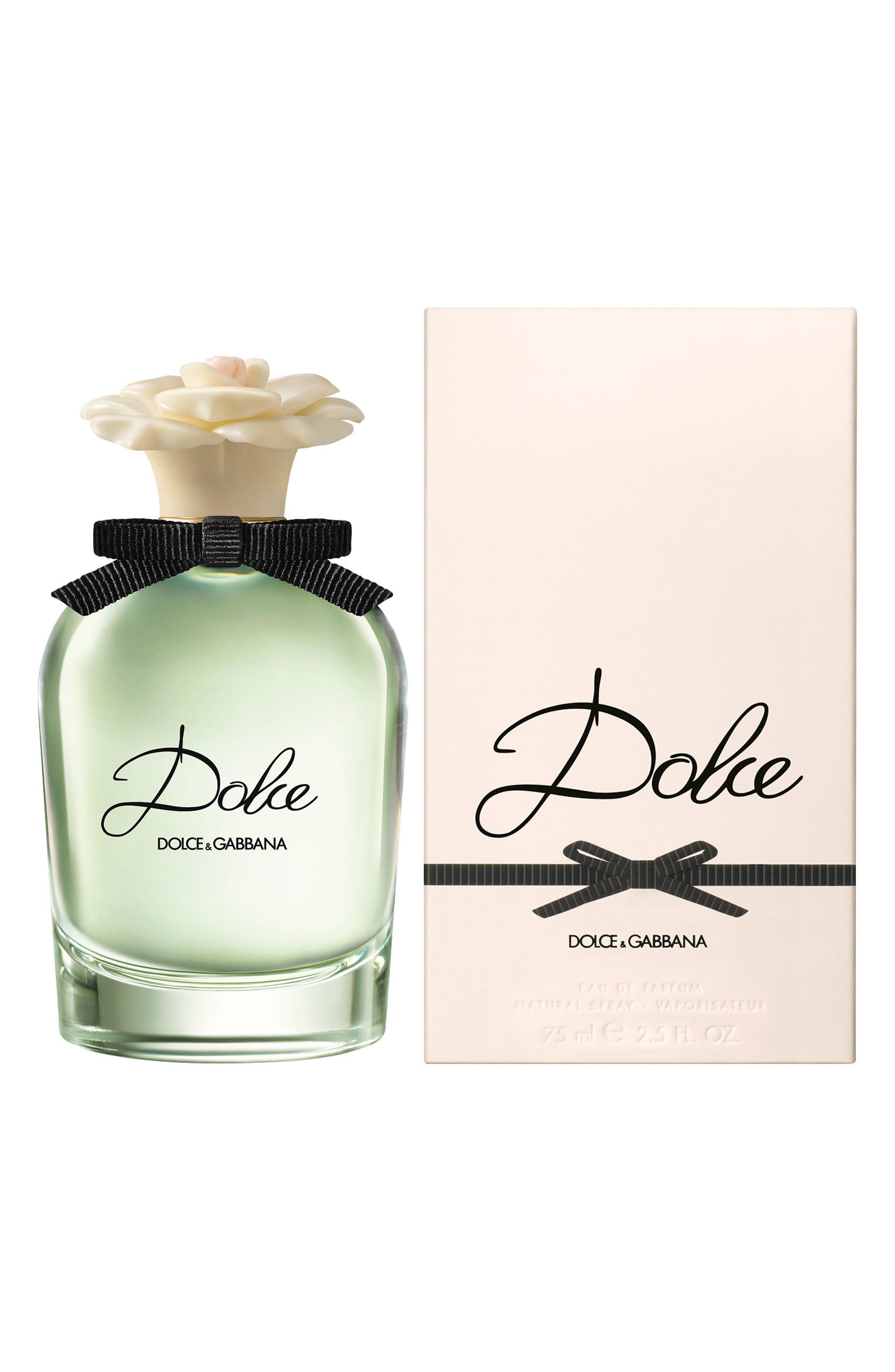 DOLCE&GABBANA BEAUTY, 'Dolce' Eau de Parfum Spray, Alternate thumbnail 2, color, NO COLOR