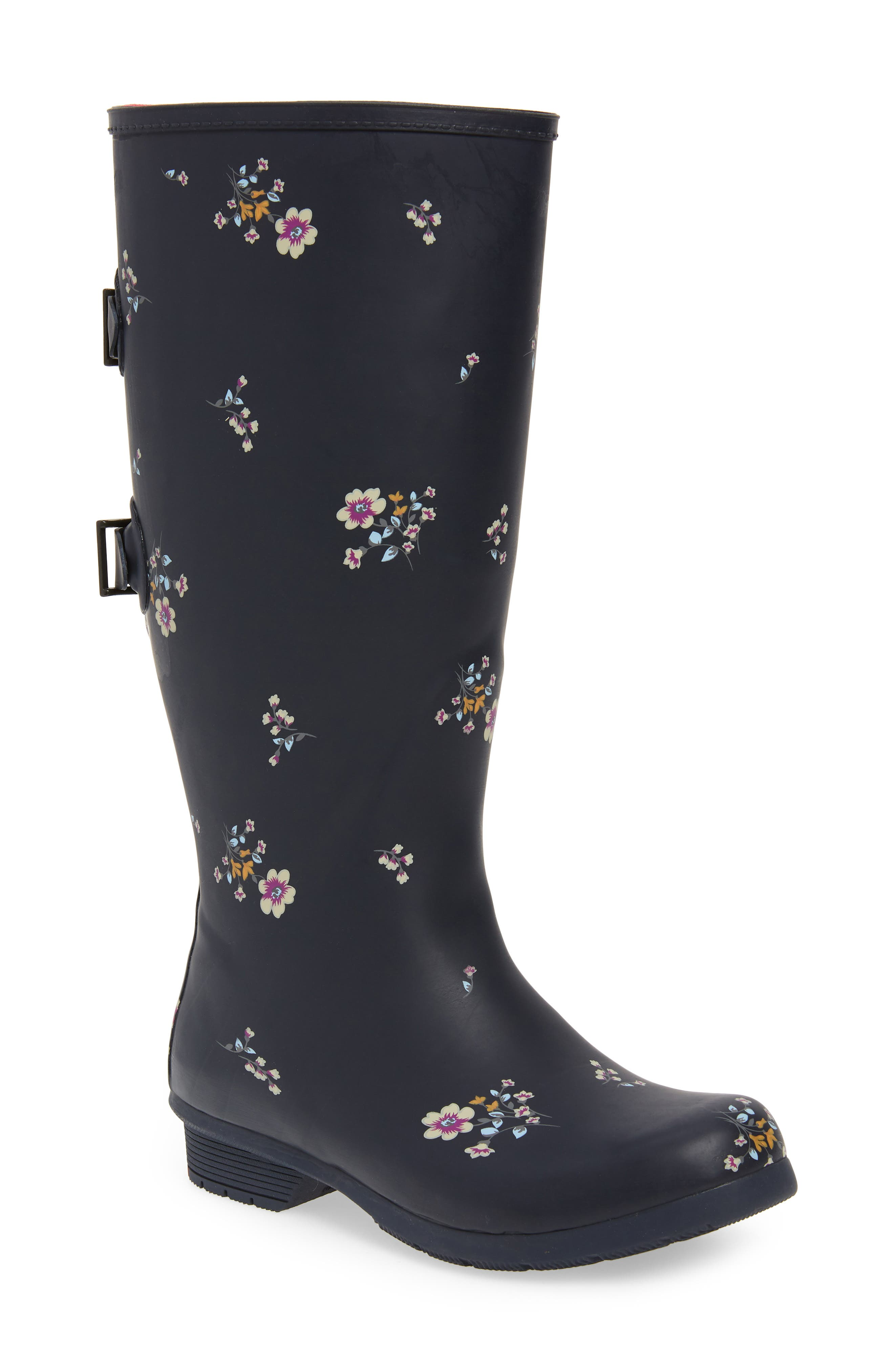 CHOOKA Versa Rain Boot, Main, color, NAVY MATTE