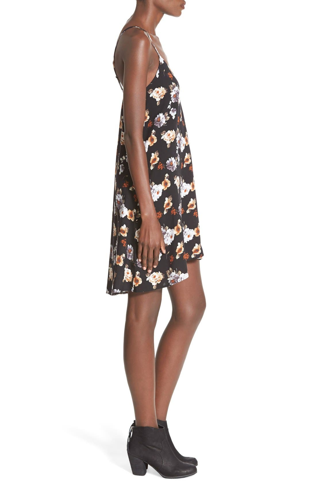 MIMI CHICA, Print Slipdress, Alternate thumbnail 5, color, 001