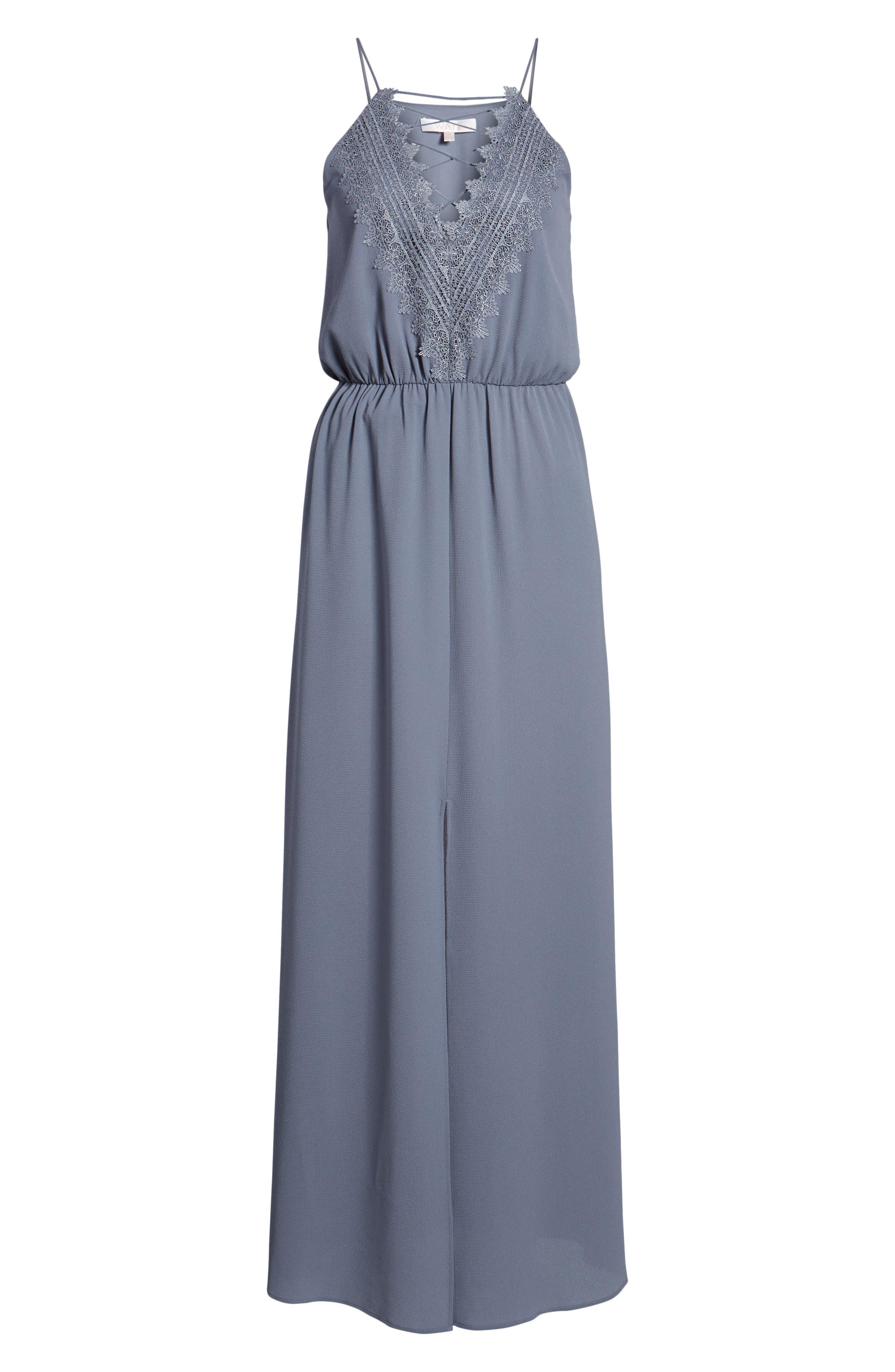 WAYF, Posie Maxi Dress, Alternate thumbnail 7, color, 027