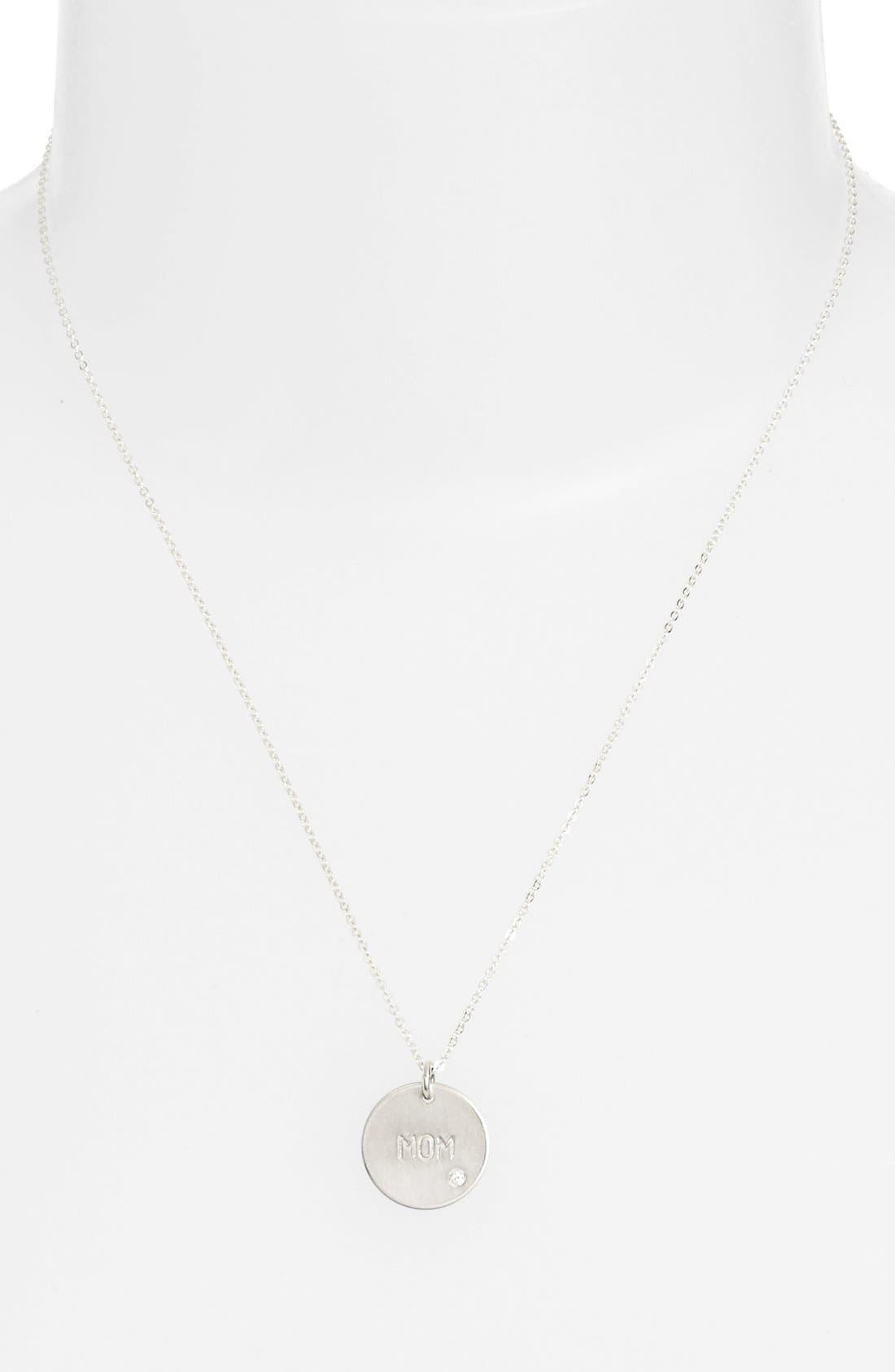 NASHELLE, Diamond Pendant Necklace, Alternate thumbnail 2, color, 040