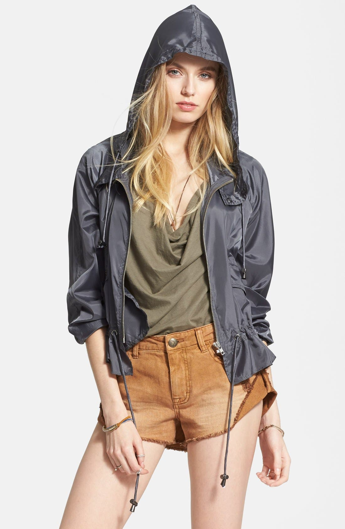 FREE PEOPLE Ripstop Tech Jacket, Main, color, 020