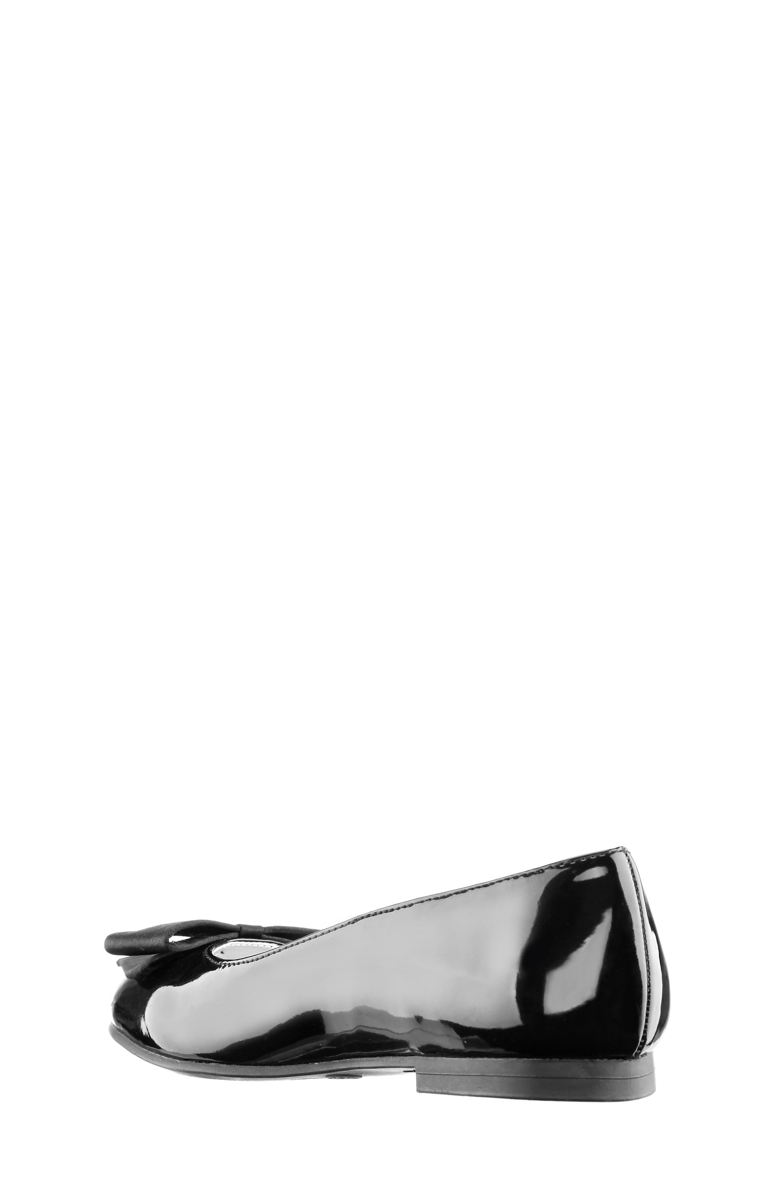 NINA, 'Pegasus' Flat, Alternate thumbnail 3, color, BLACK PATENT