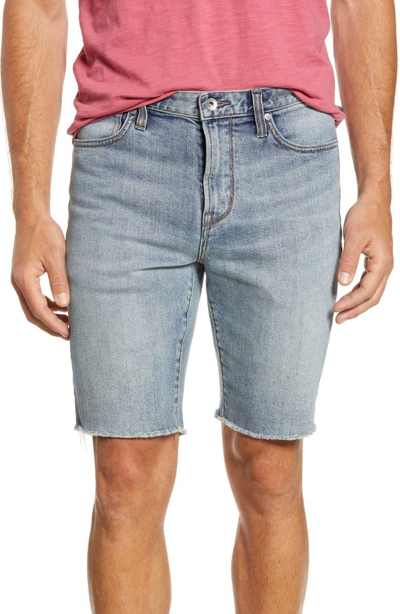 John Varvatos Jeans BOWERY SLIM STRAIGHT JEAN SHORTS