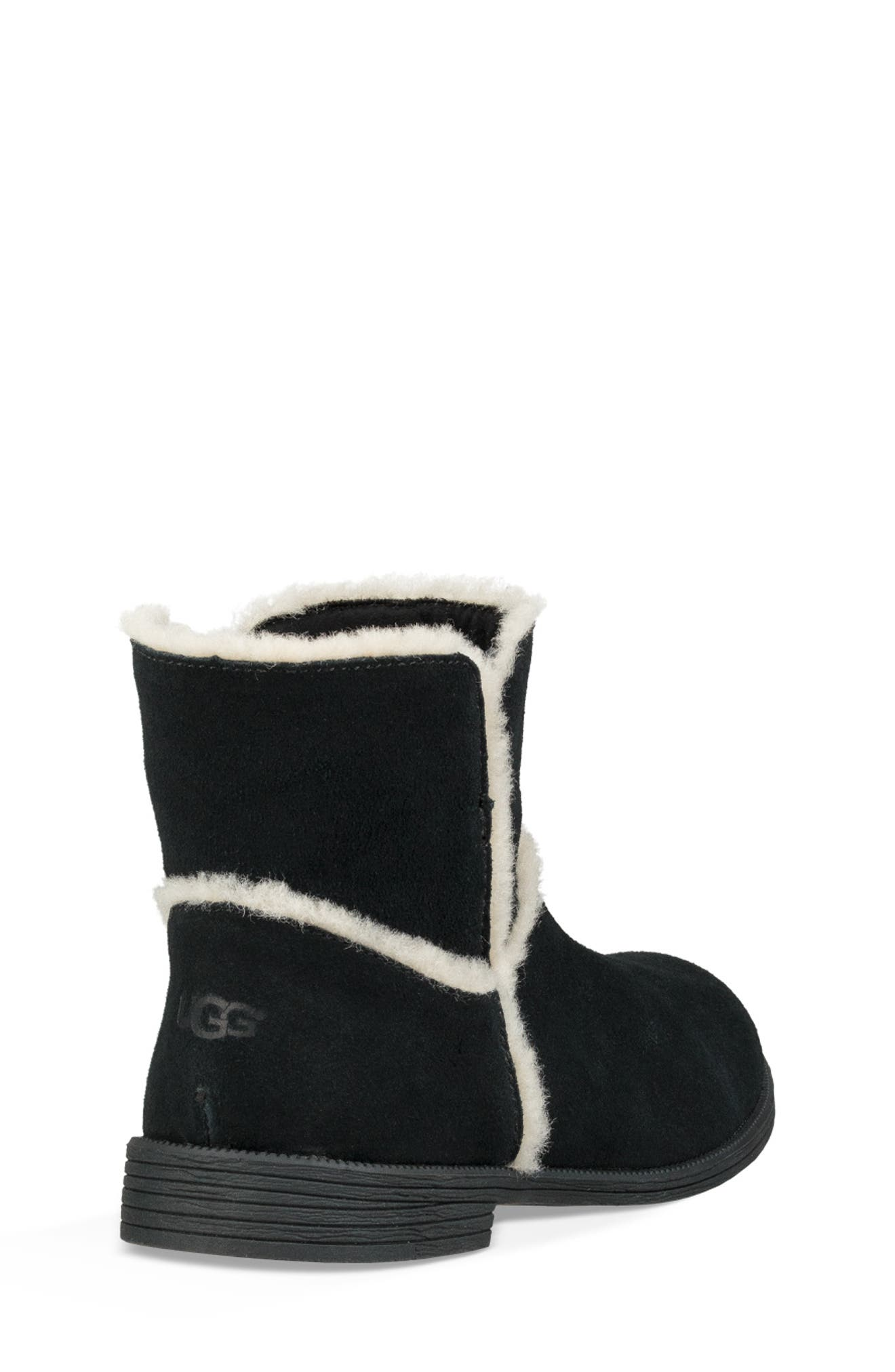 UGG<SUP>®</SUP>, Coletta Short Boot, Alternate thumbnail 2, color, BLACK