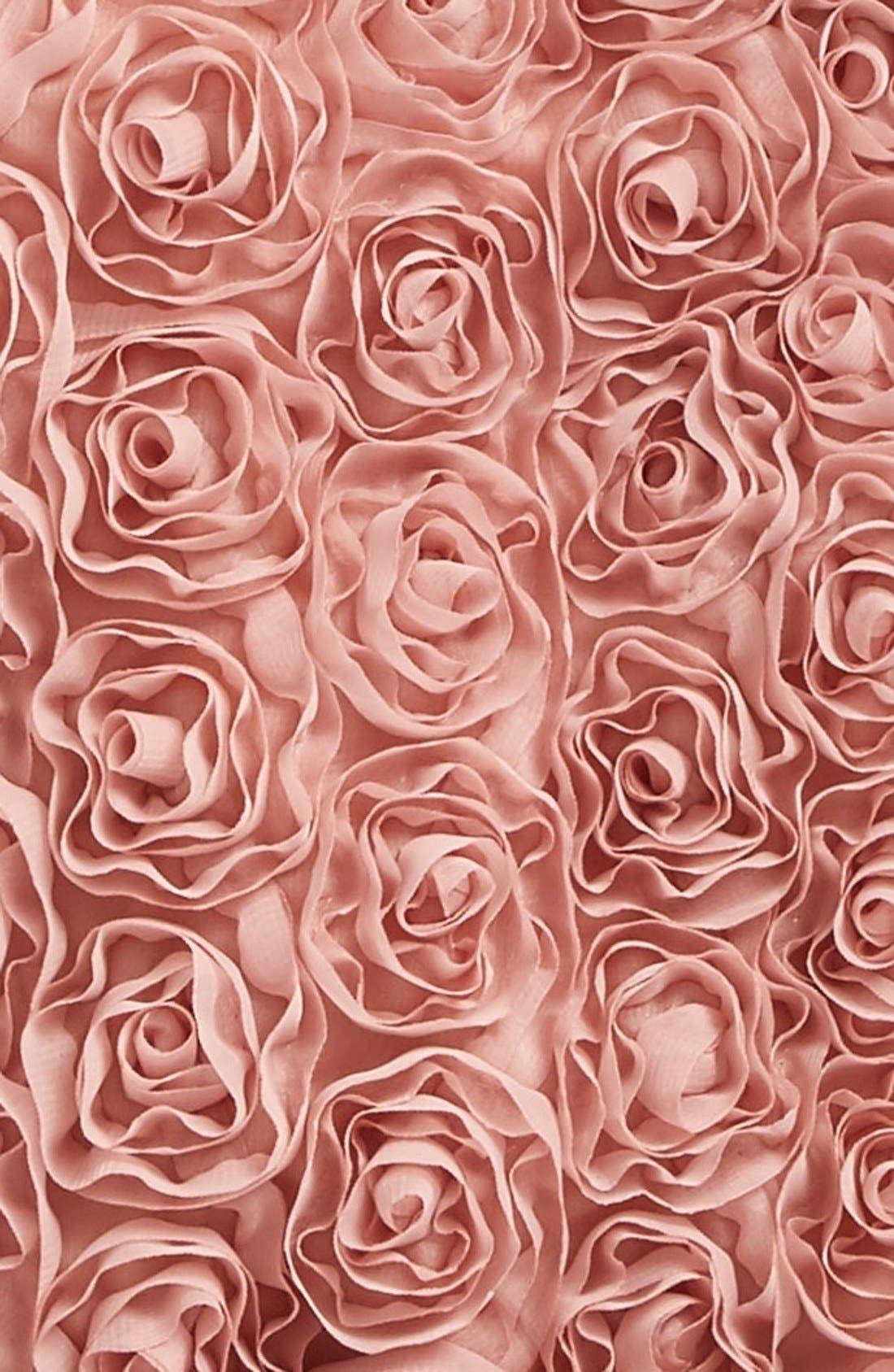 POPATU, Ribbon Rosette Tutu Dress, Alternate thumbnail 2, color, DUSTY PINK