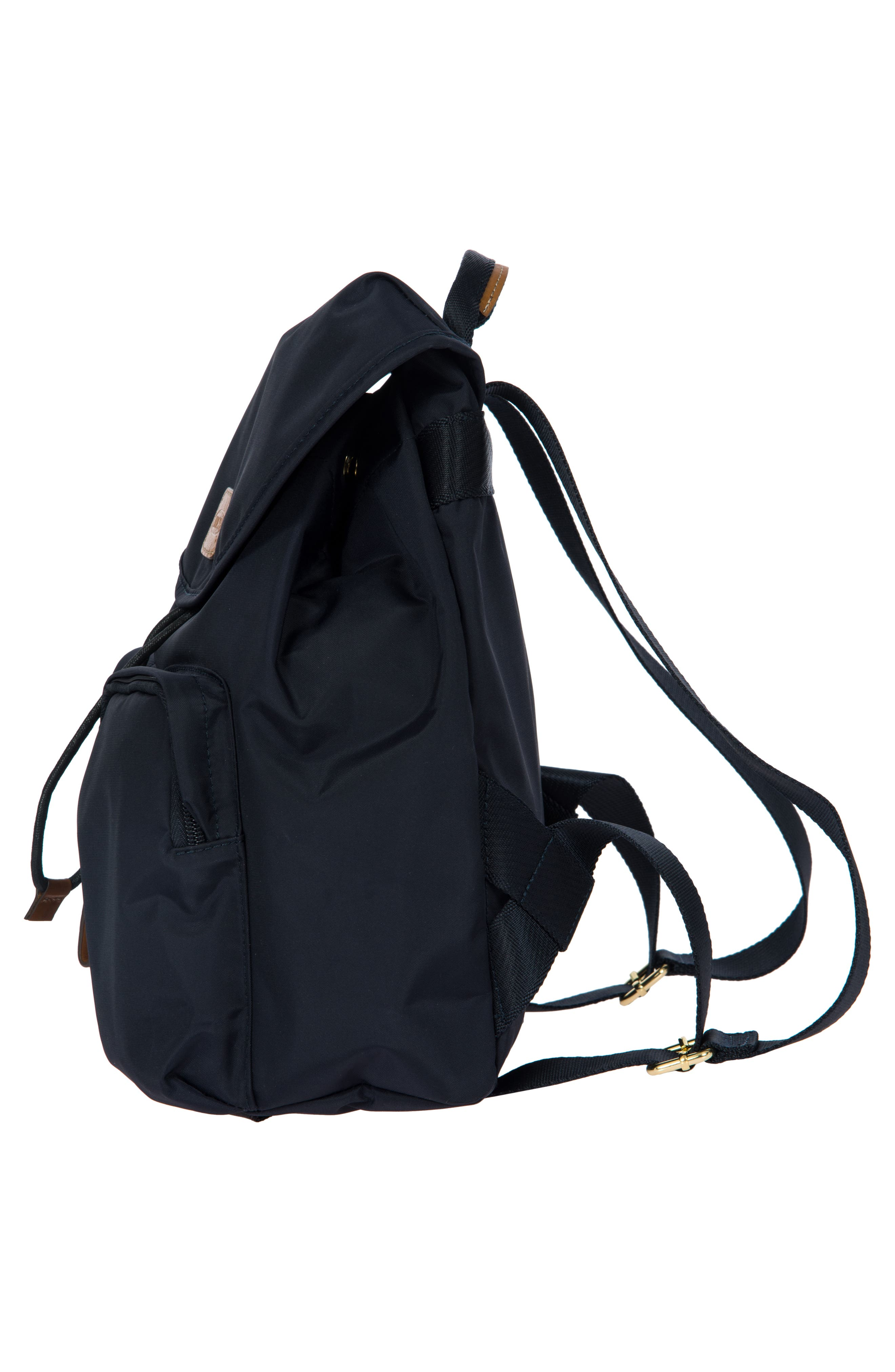 BRIC'S, X-Travel City Backpack, Alternate thumbnail 4, color, NAVY