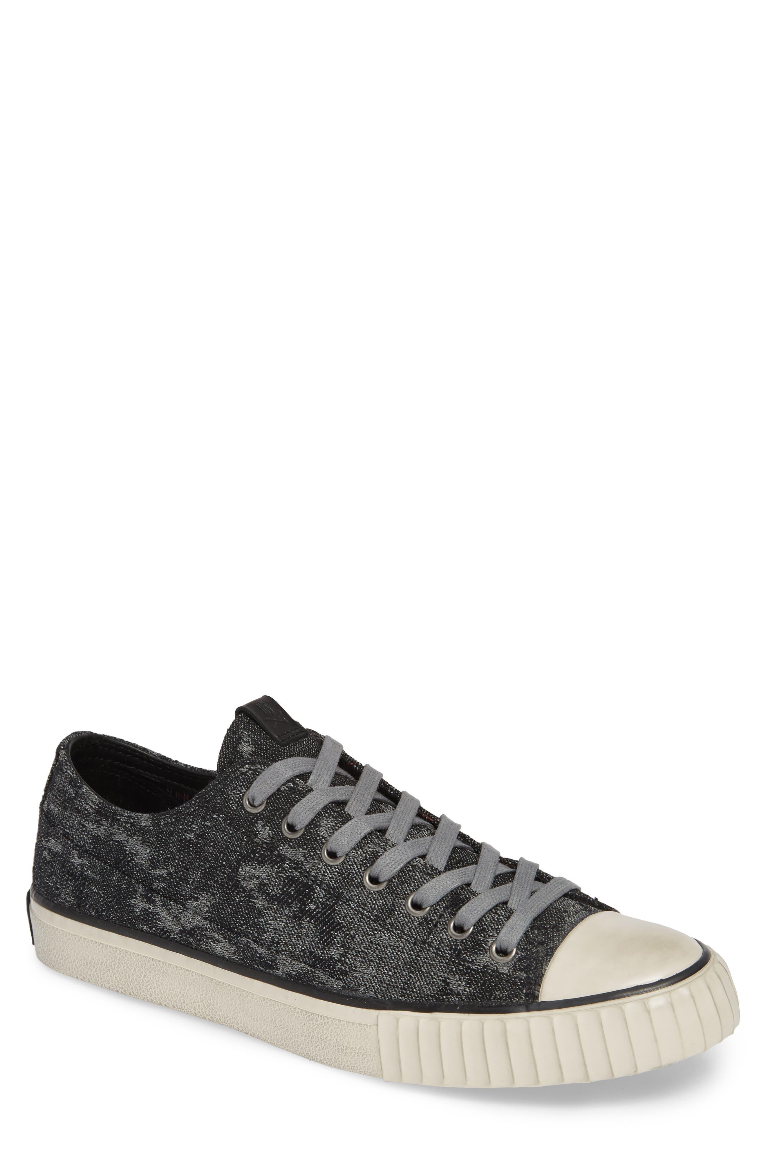 Bootleg By John Varvatos Abstract Sneaker- Grey