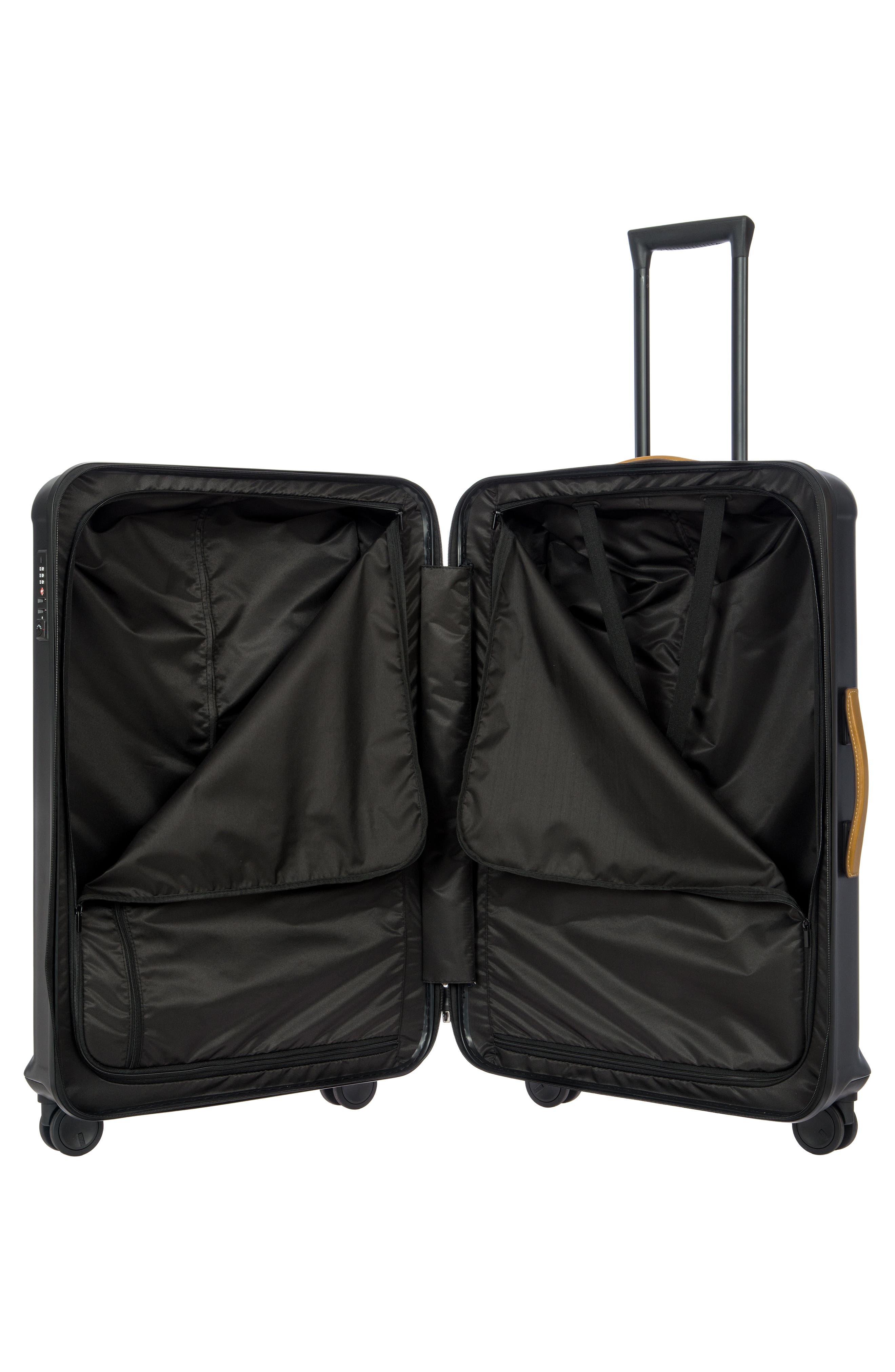 BRIC'S, Capri 32-Inch Spinner Suitcase, Alternate thumbnail 5, color, MATTE BLACK