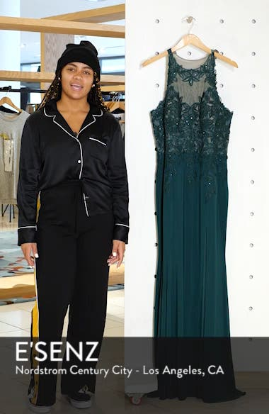 Embroidered Slit Dress, sales video thumbnail