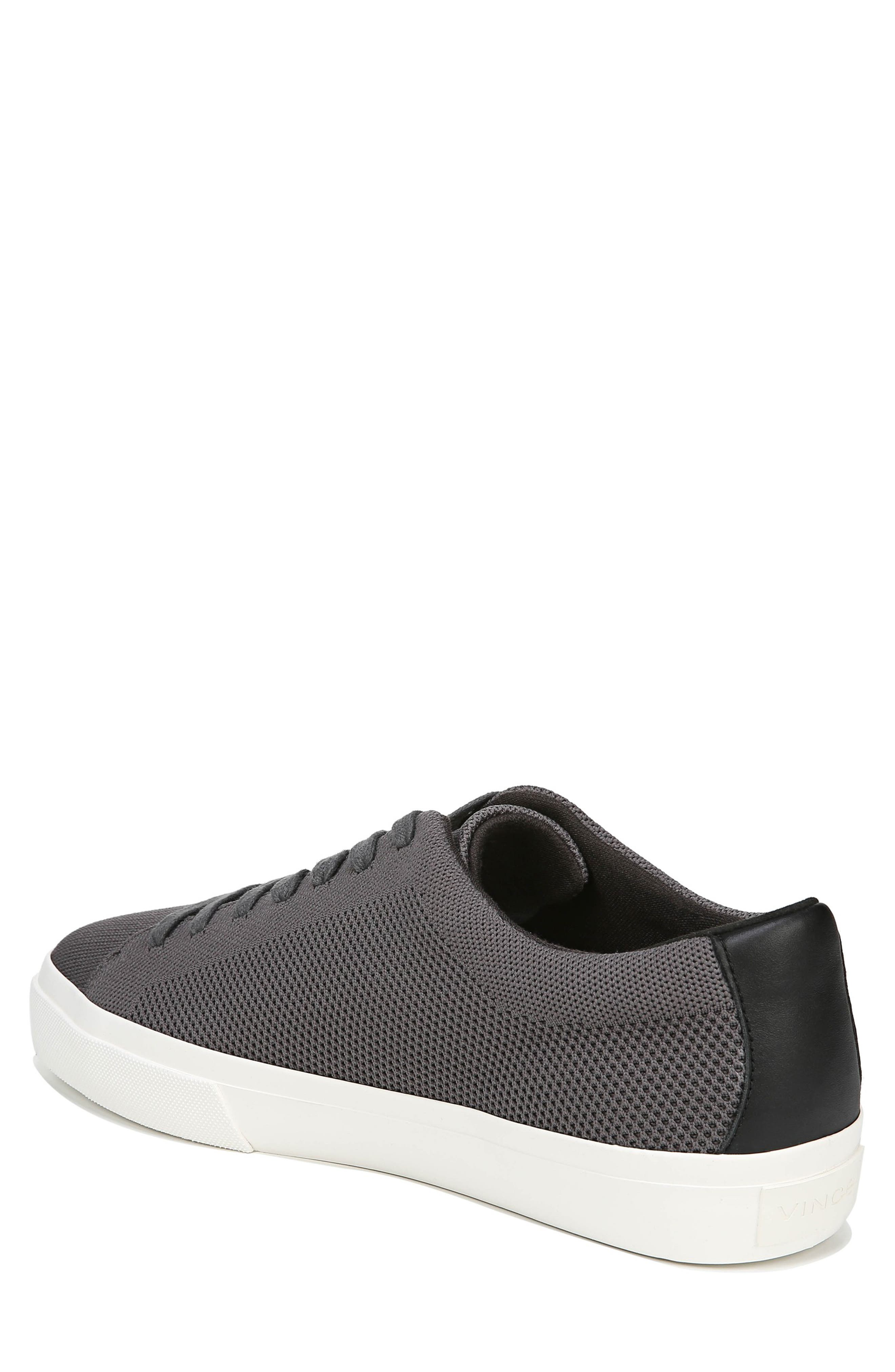 VINCE, Farrell Sneaker, Alternate thumbnail 2, color, GRAPHITE/ BLACK