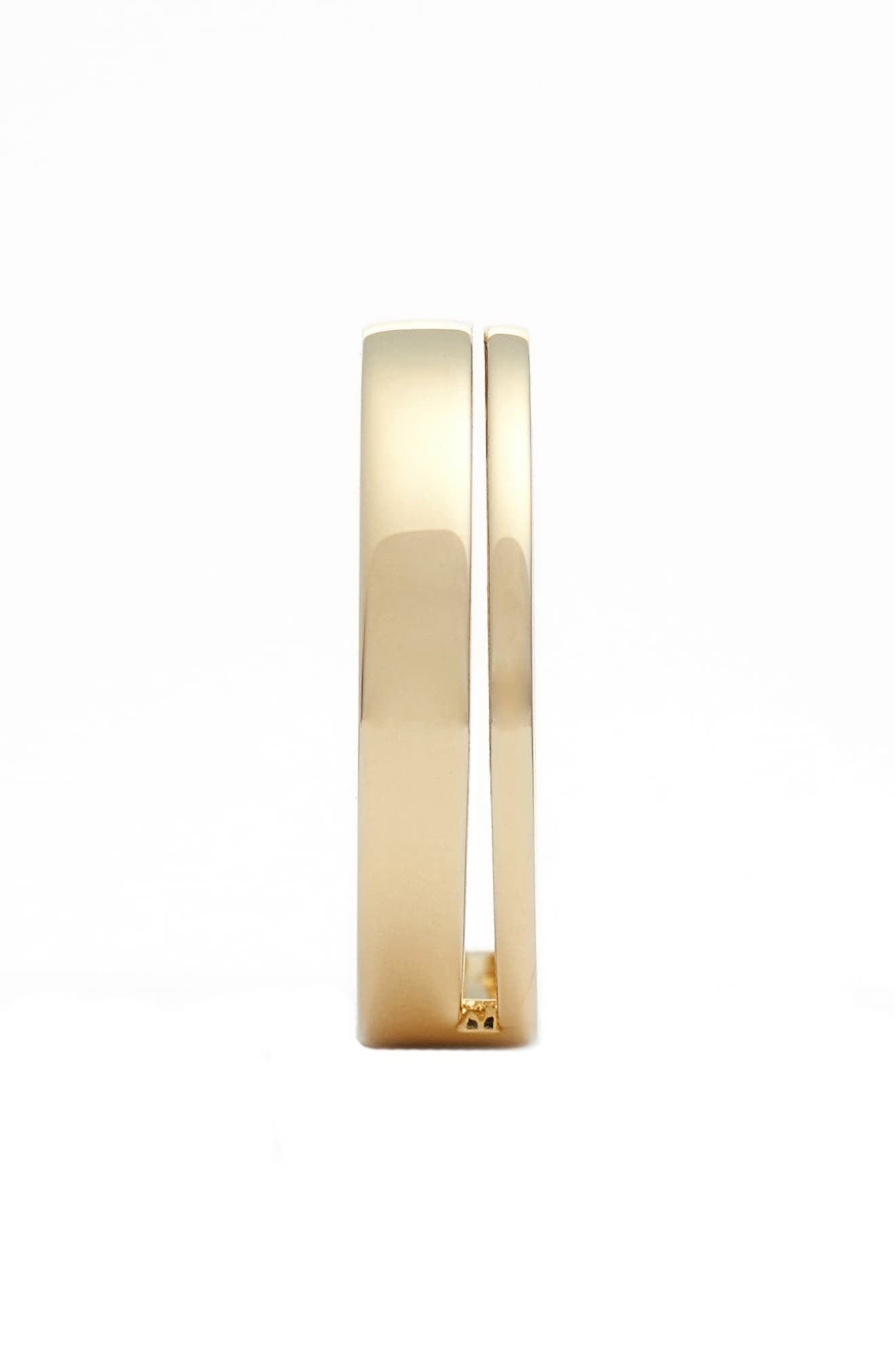 BONY LEVY, Split Band Ring, Alternate thumbnail 2, color, YELLOW GOLD