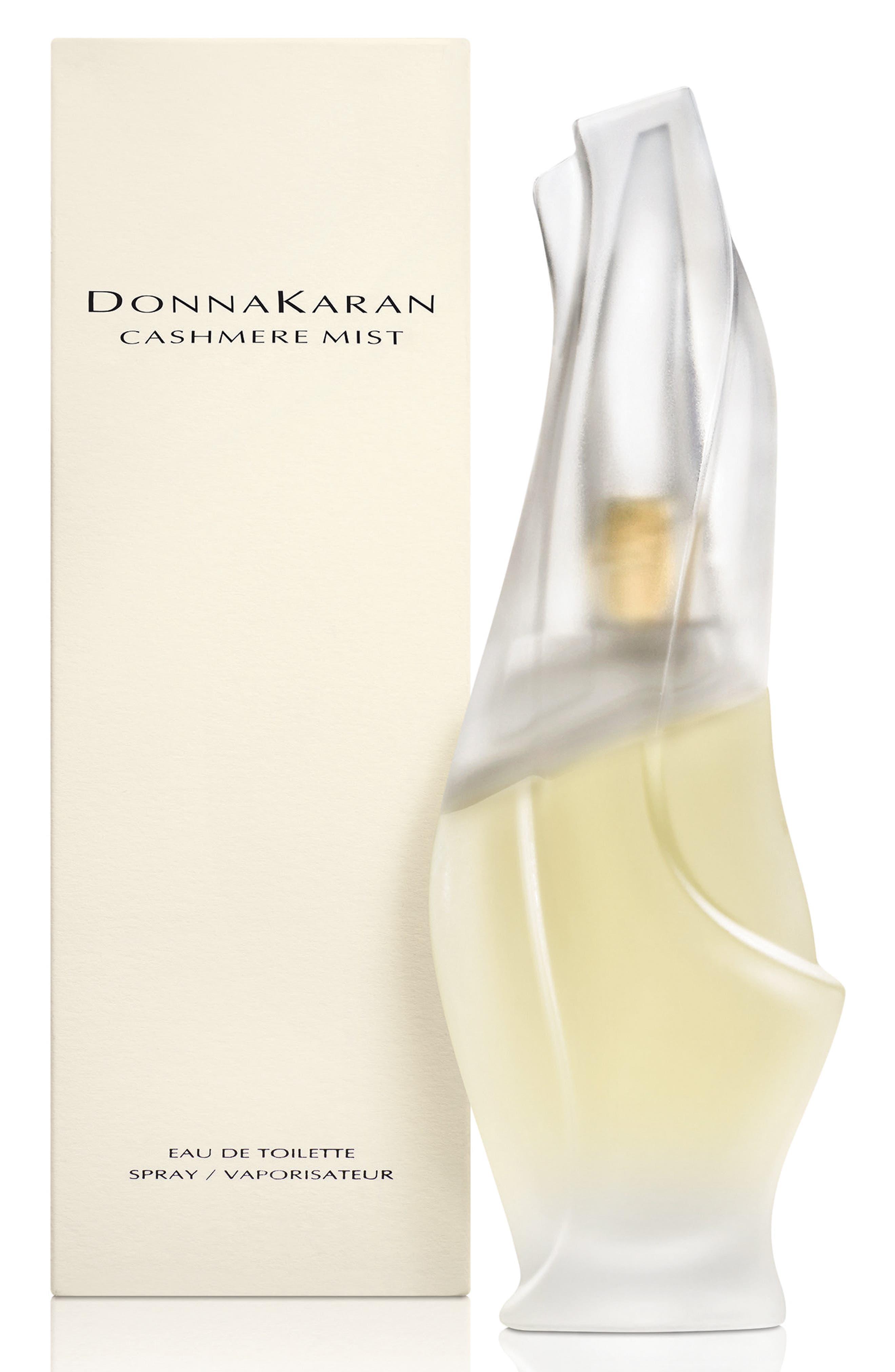 DONNA KARAN NEW YORK, Donna Karan 'Cashmere Mist' Eau de Toilette Spray, Alternate thumbnail 2, color, NO COLOR