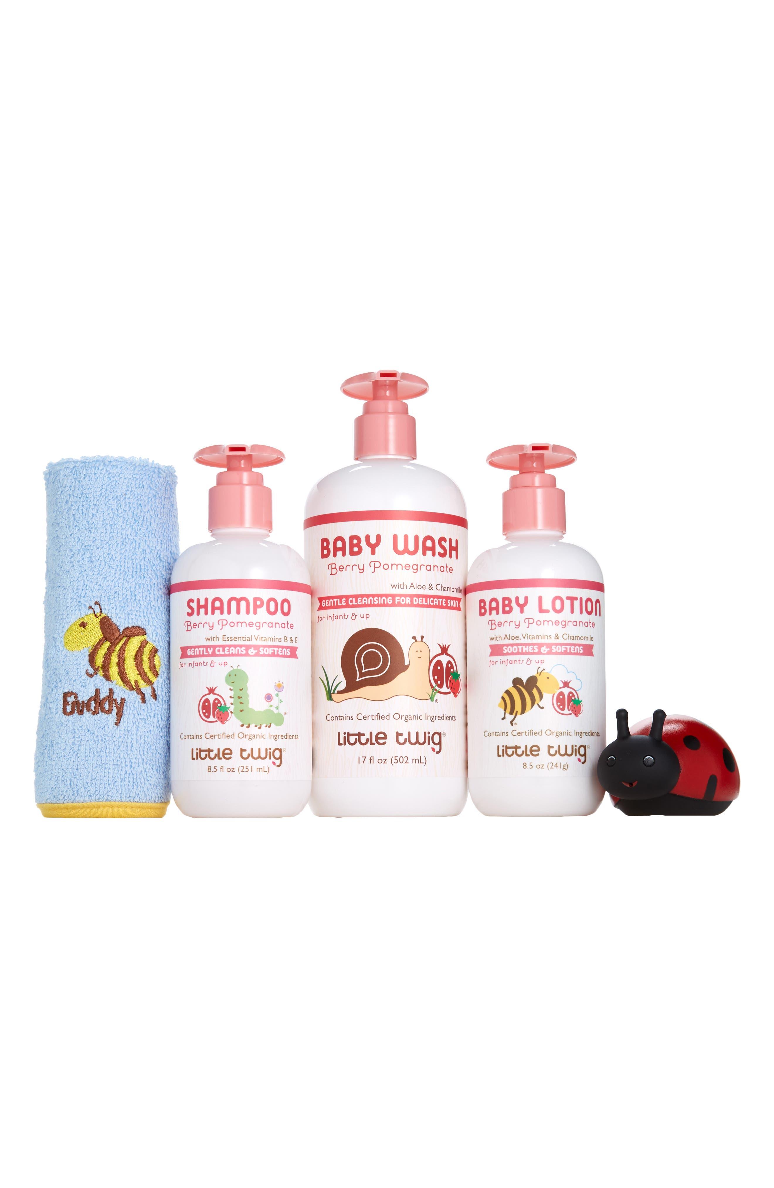 Little Twig Very Berry Bath Gift Set