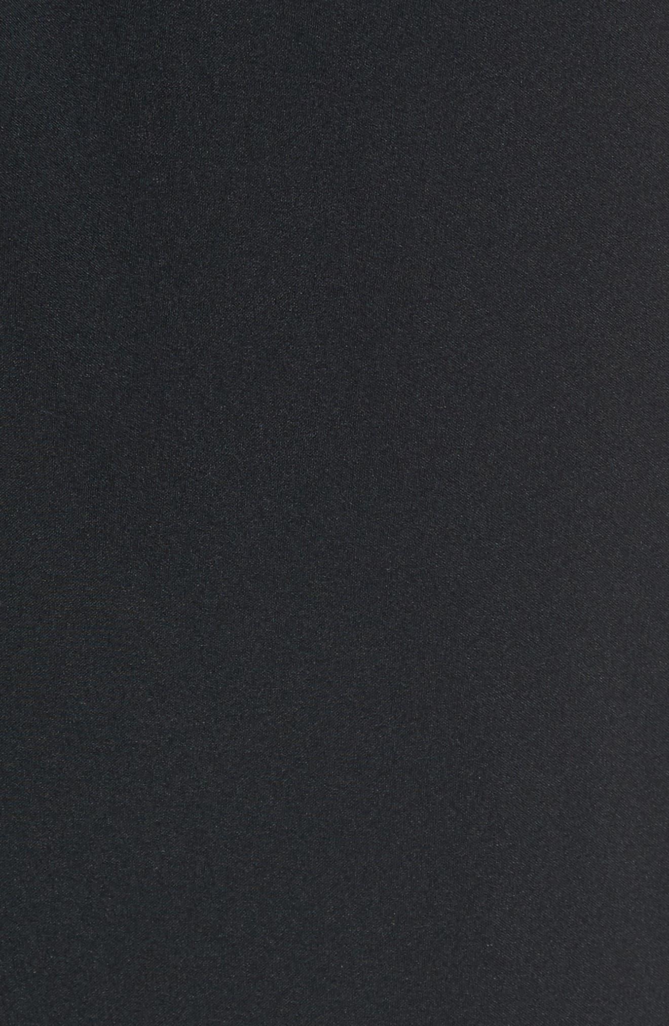 NIKE, Flex Vent Max Shorts, Alternate thumbnail 6, color, BLACK/ METALLIC HEMATITE