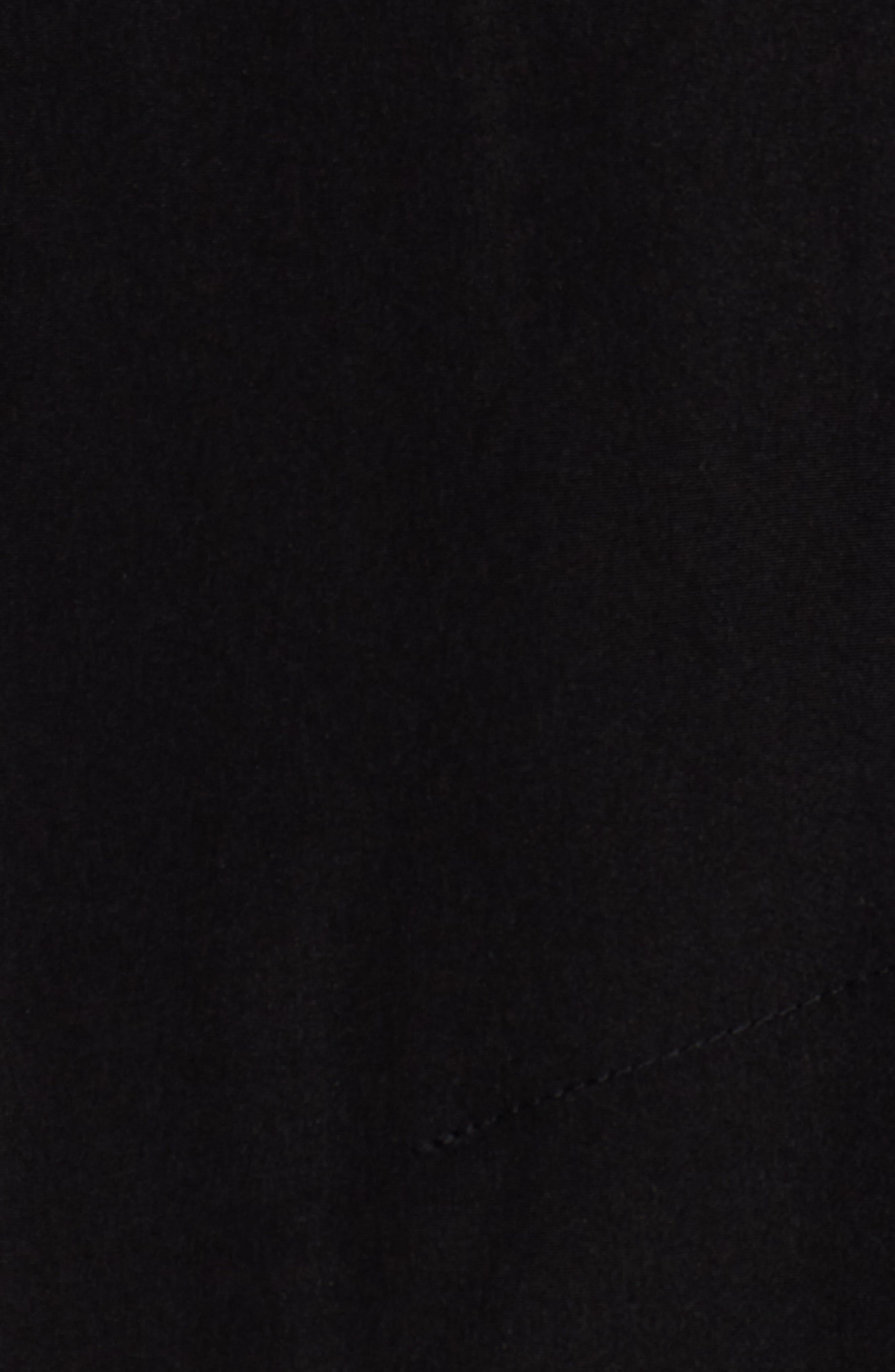 LONDON FOG, Long Trench Coat with Detachable Hood & Liner, Alternate thumbnail 7, color, BLACK