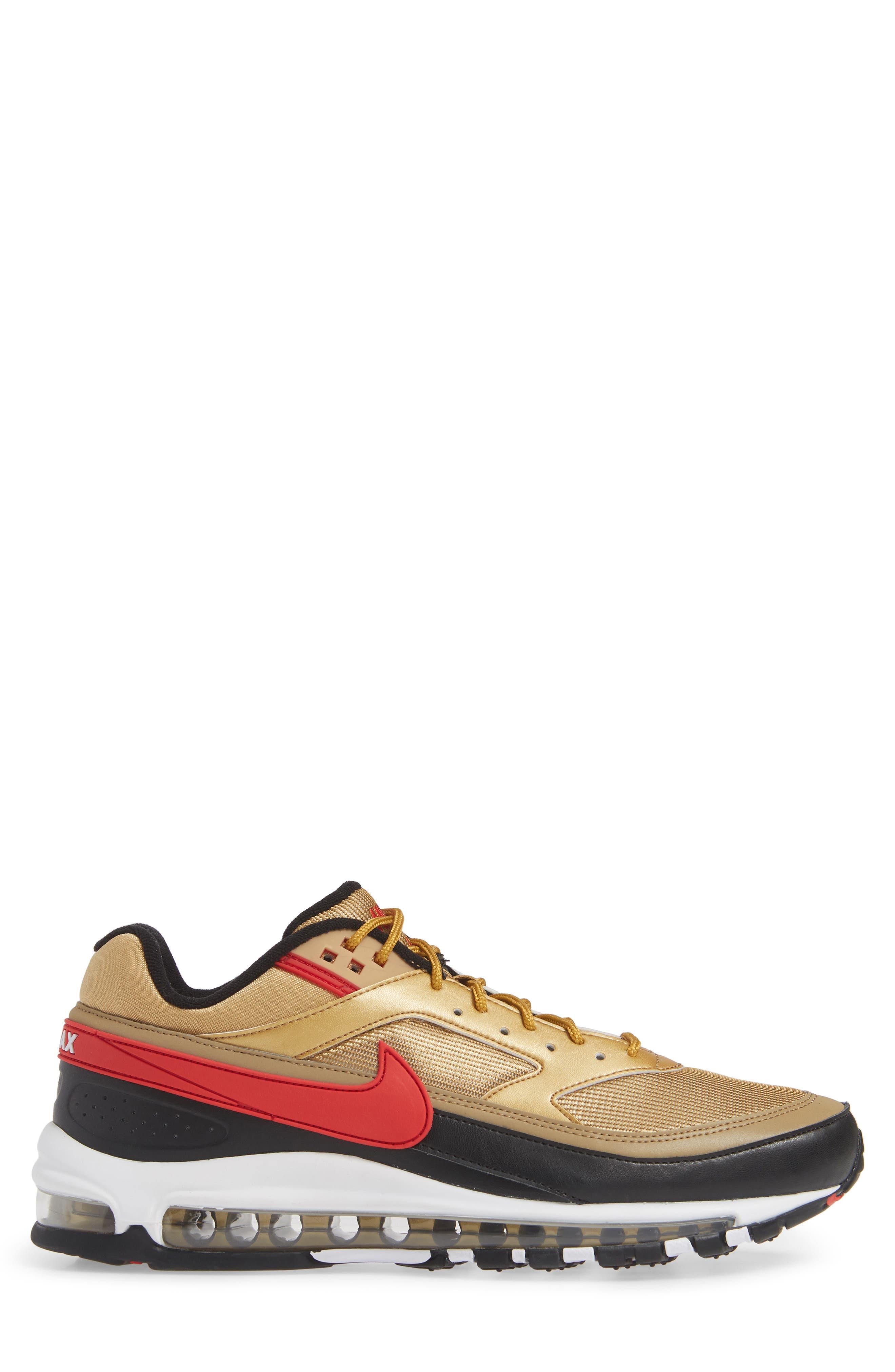 NIKE, Air Max 97 BW Sneaker, Alternate thumbnail 3, color, 040