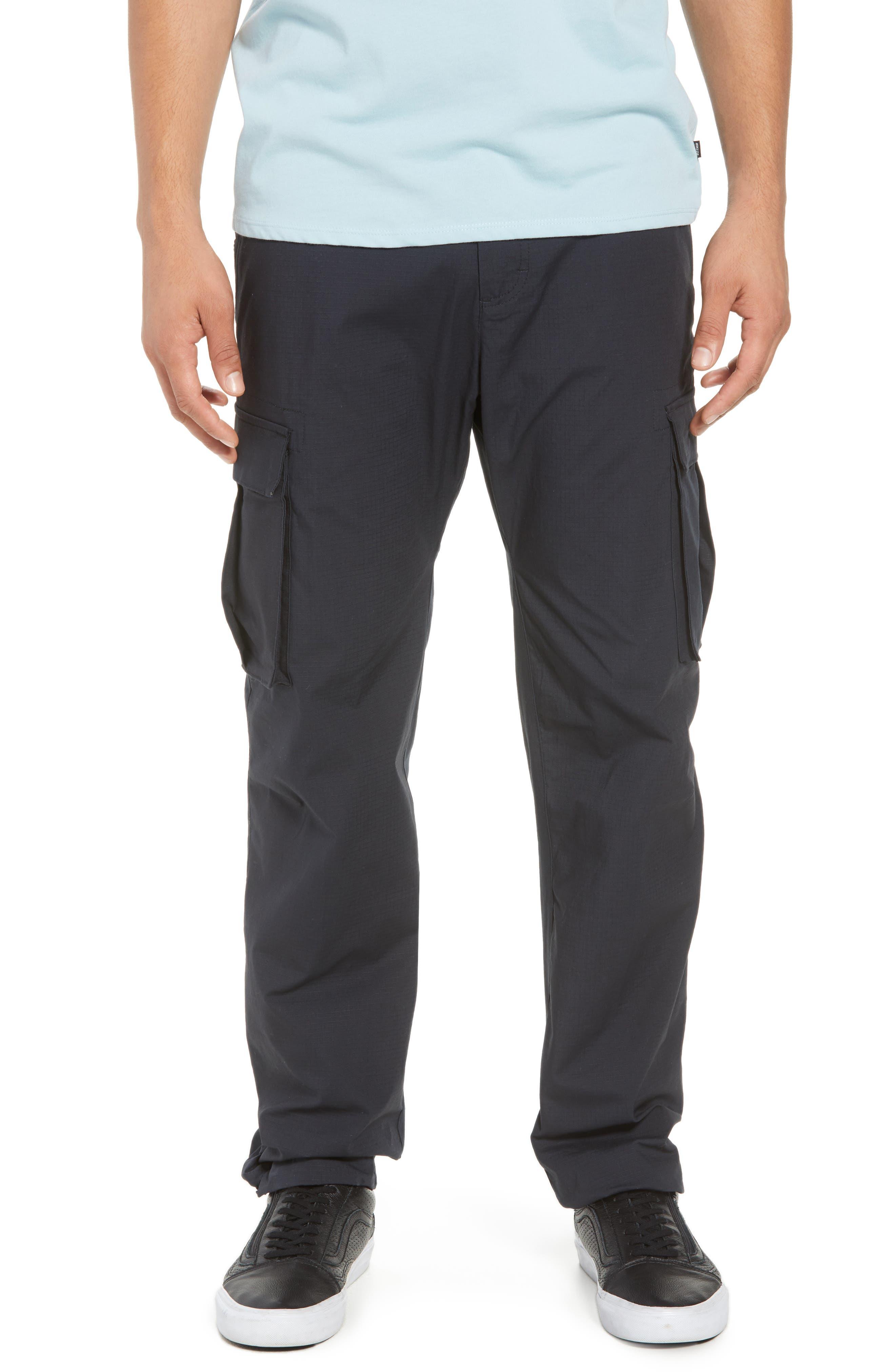 NIKE SB Flex Cargo Pants, Main, color, BLACK