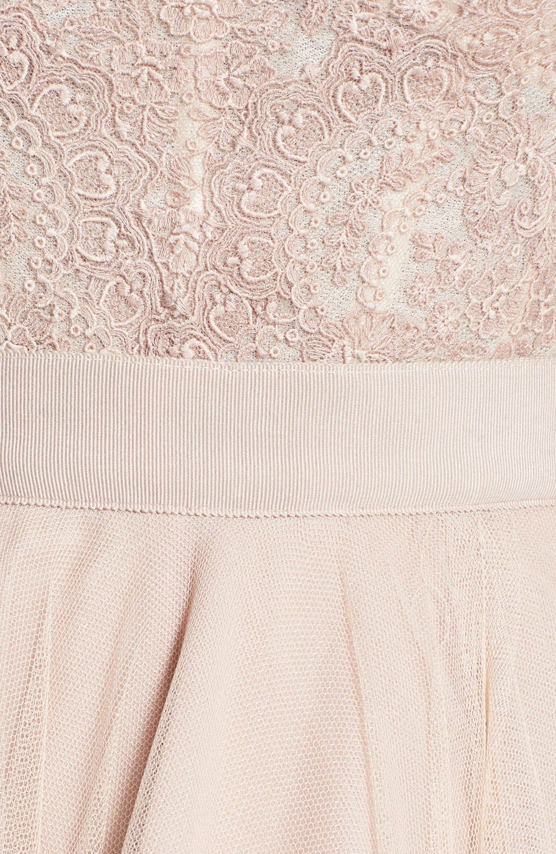 WATTERS, Carina Lace Bustier, Alternate thumbnail 5, color, 950