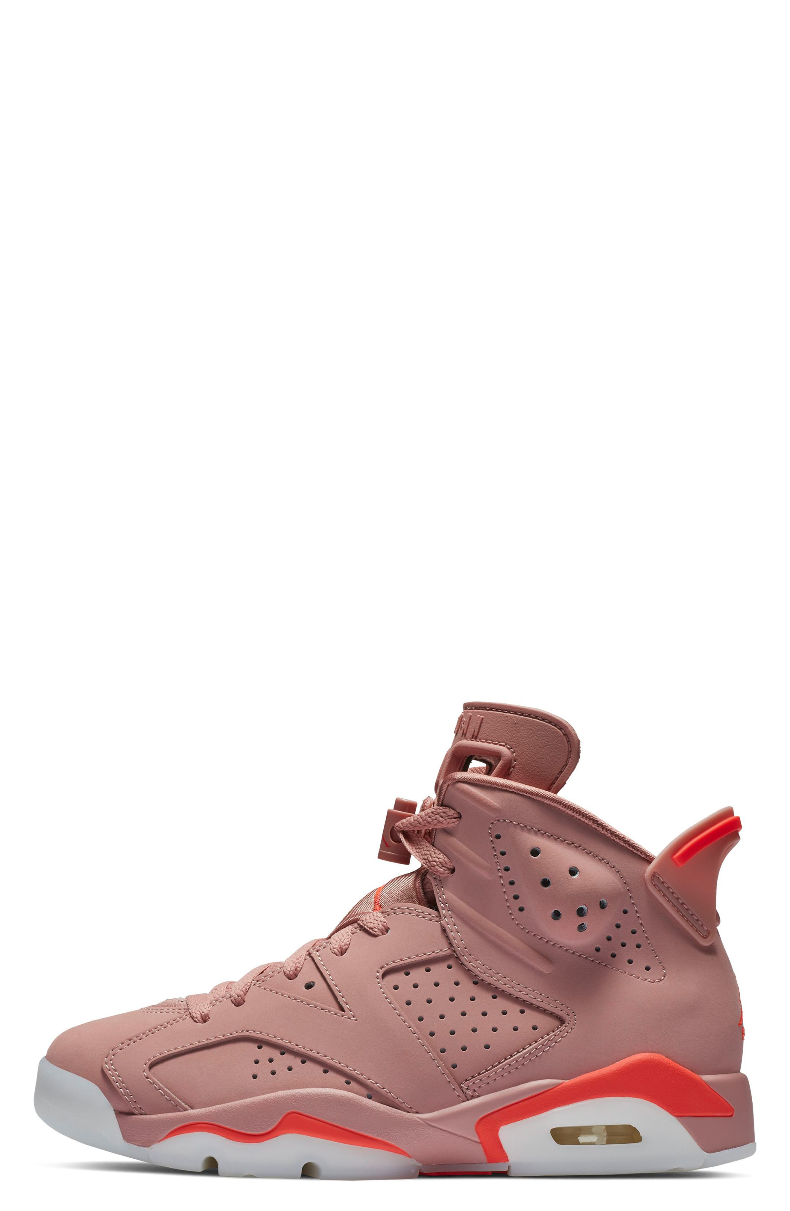 JORDAN, Nike Air Jordan 6 Retro NRG Sneaker, Alternate thumbnail 3, color, 650