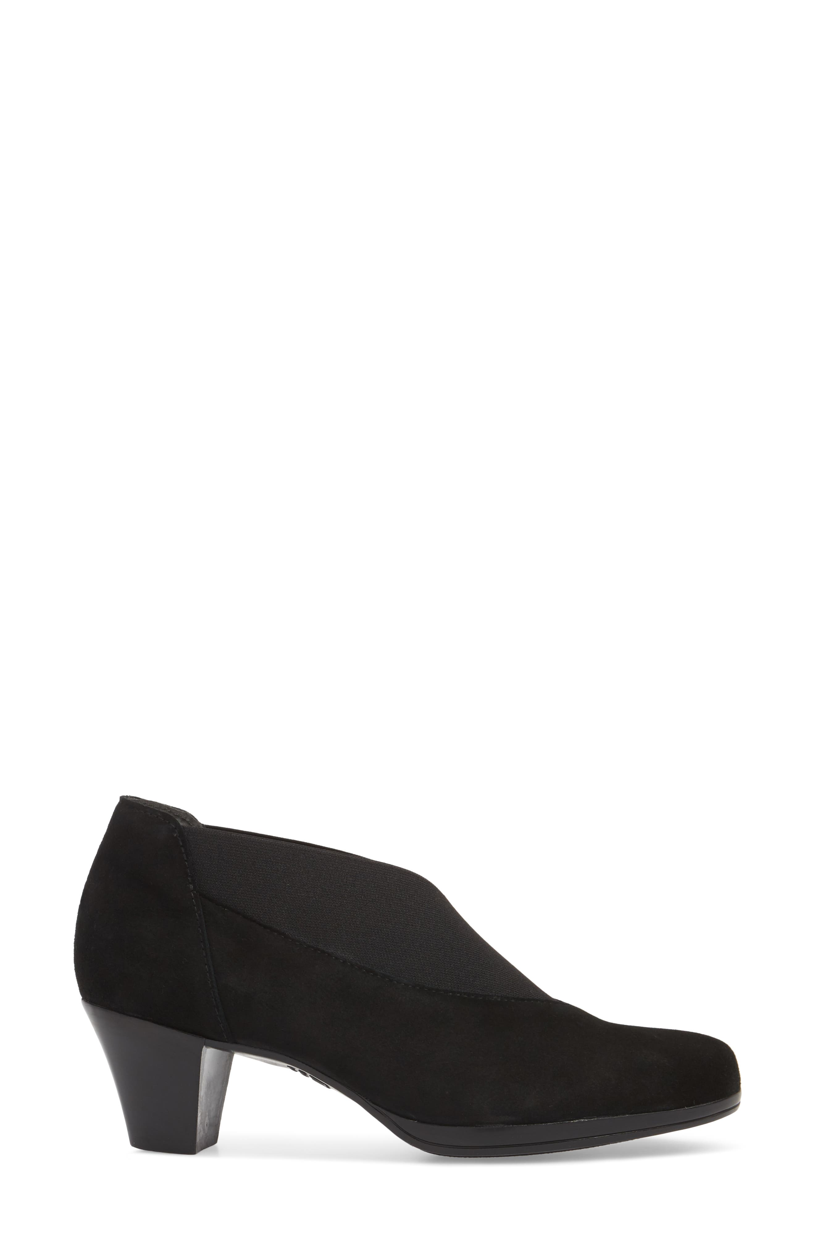 MUNRO, Francee Boot, Alternate thumbnail 3, color, BLACK SUEDE