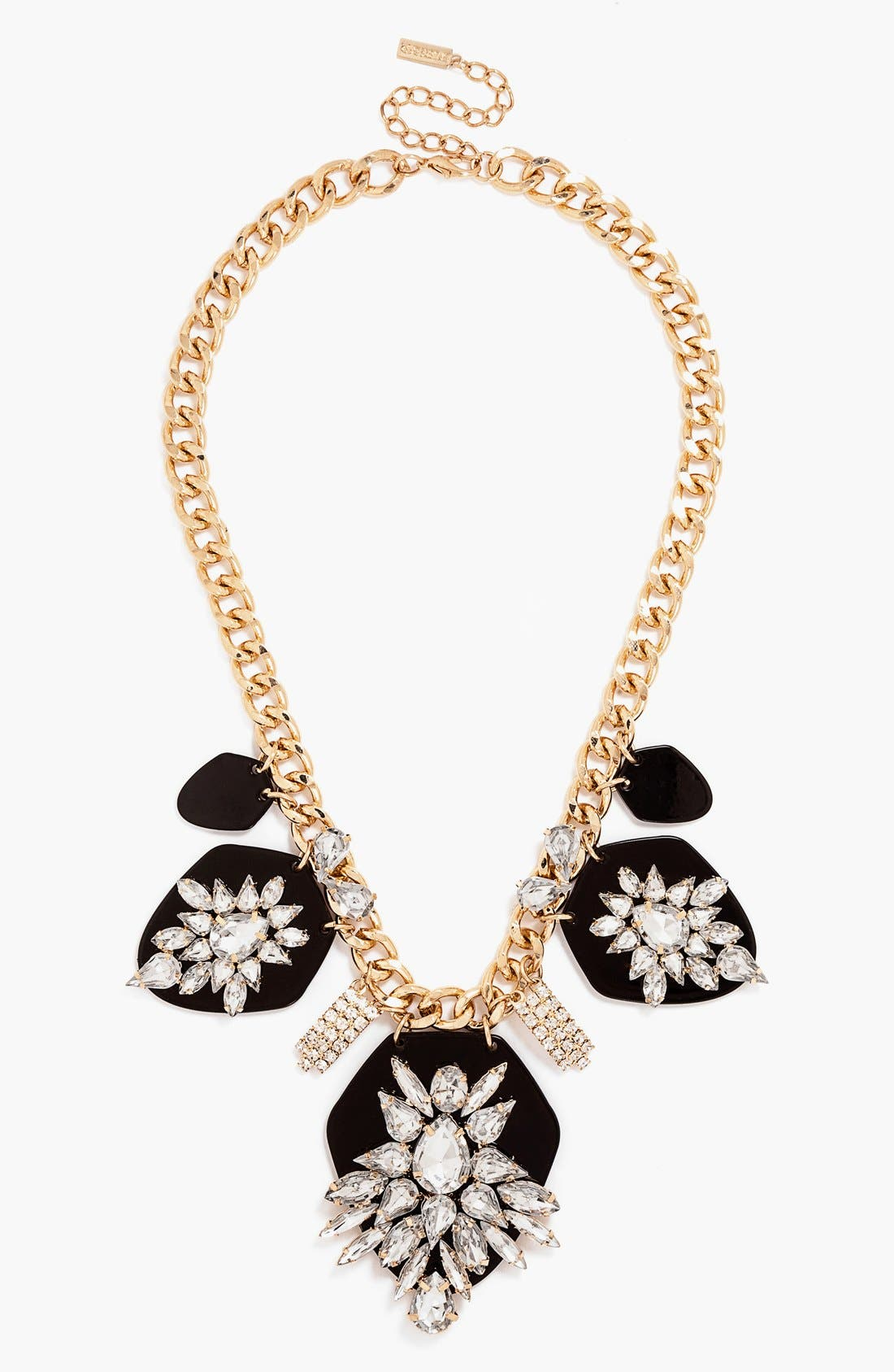 BAUBLEBAR, 'Constellation' Frontal Necklace, Main thumbnail 1, color, 001