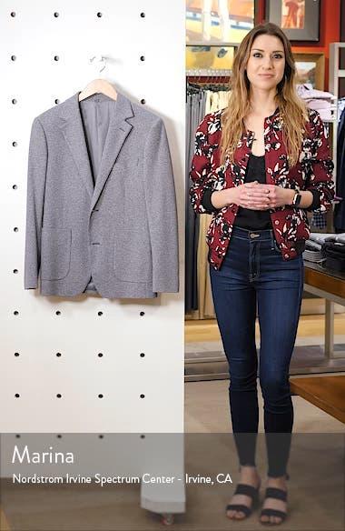 Jetsetter Slim Fit Knit Cotton Sport Coat, sales video thumbnail