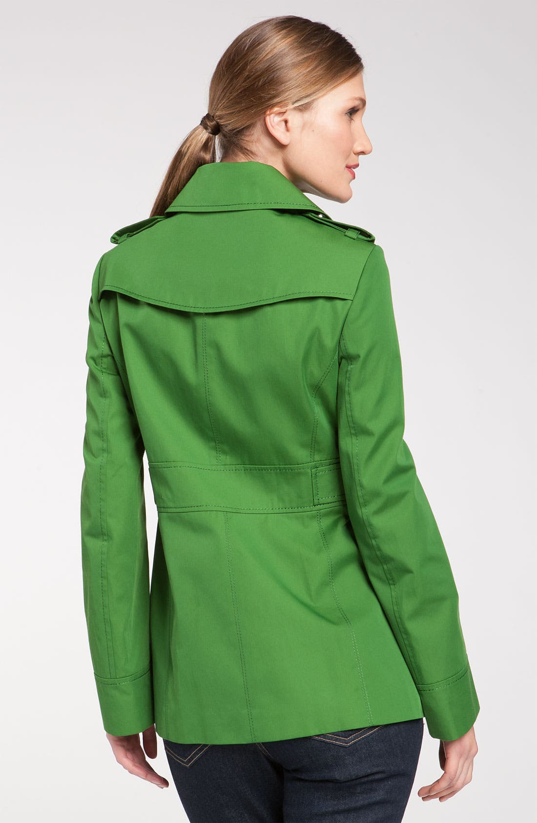 GALLERY, Single Breasted Pant Coat, Alternate thumbnail 3, color, 300