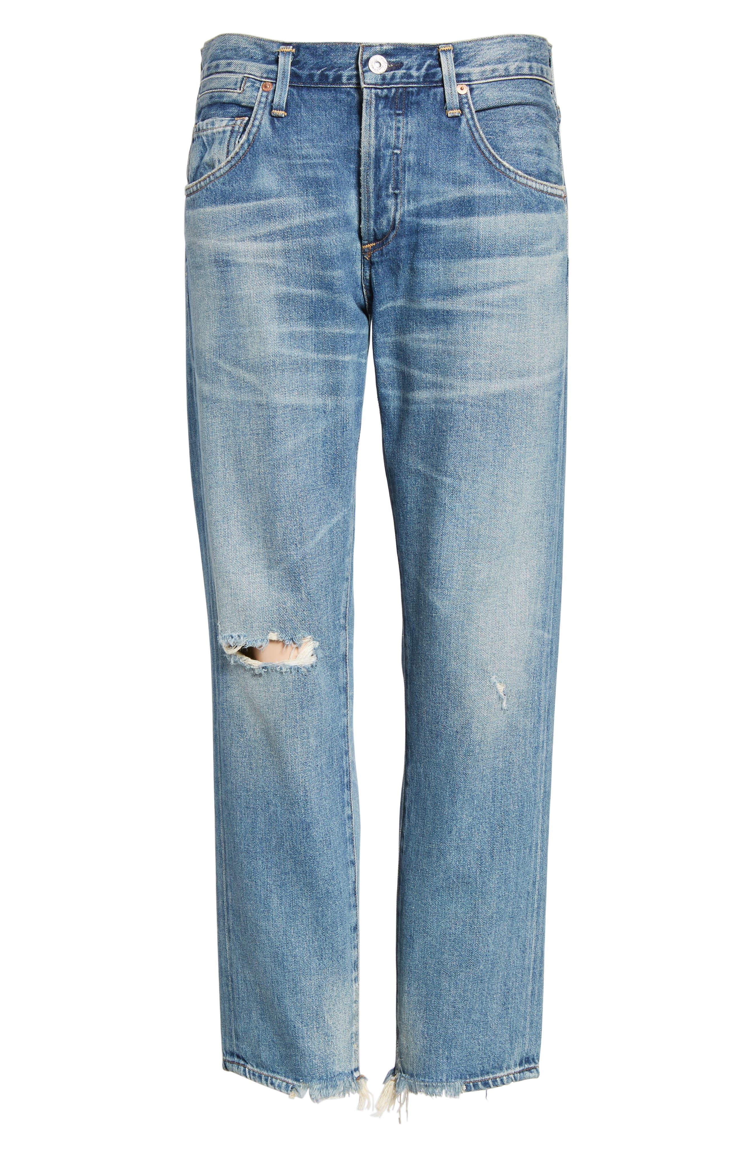 CITIZENS OF HUMANITY, Emerson Slim Boyfriend Jeans, Alternate thumbnail 7, color, HAVEN