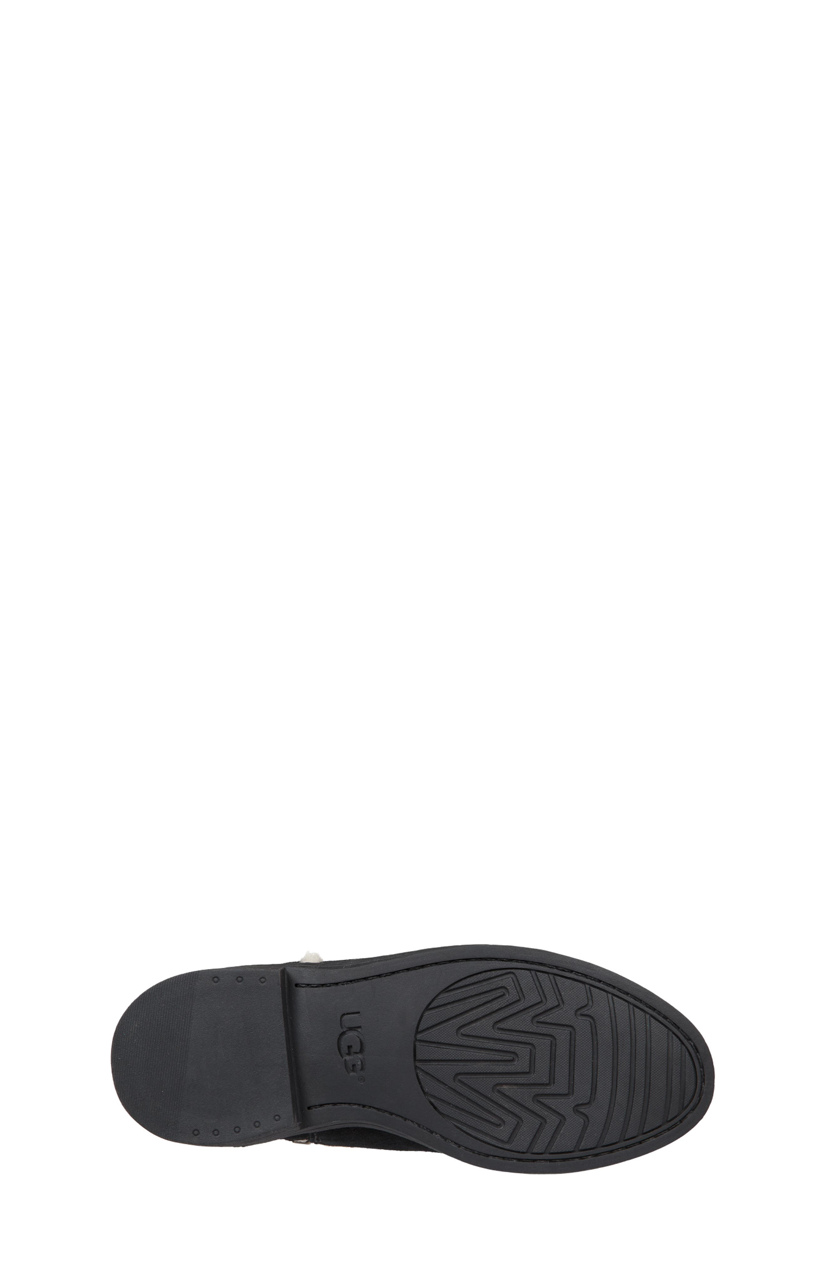 UGG<SUP>®</SUP>, Coletta Short Boot, Alternate thumbnail 5, color, BLACK