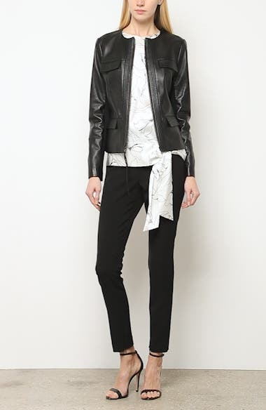 Luxe Nappa Leather Jacket, video thumbnail