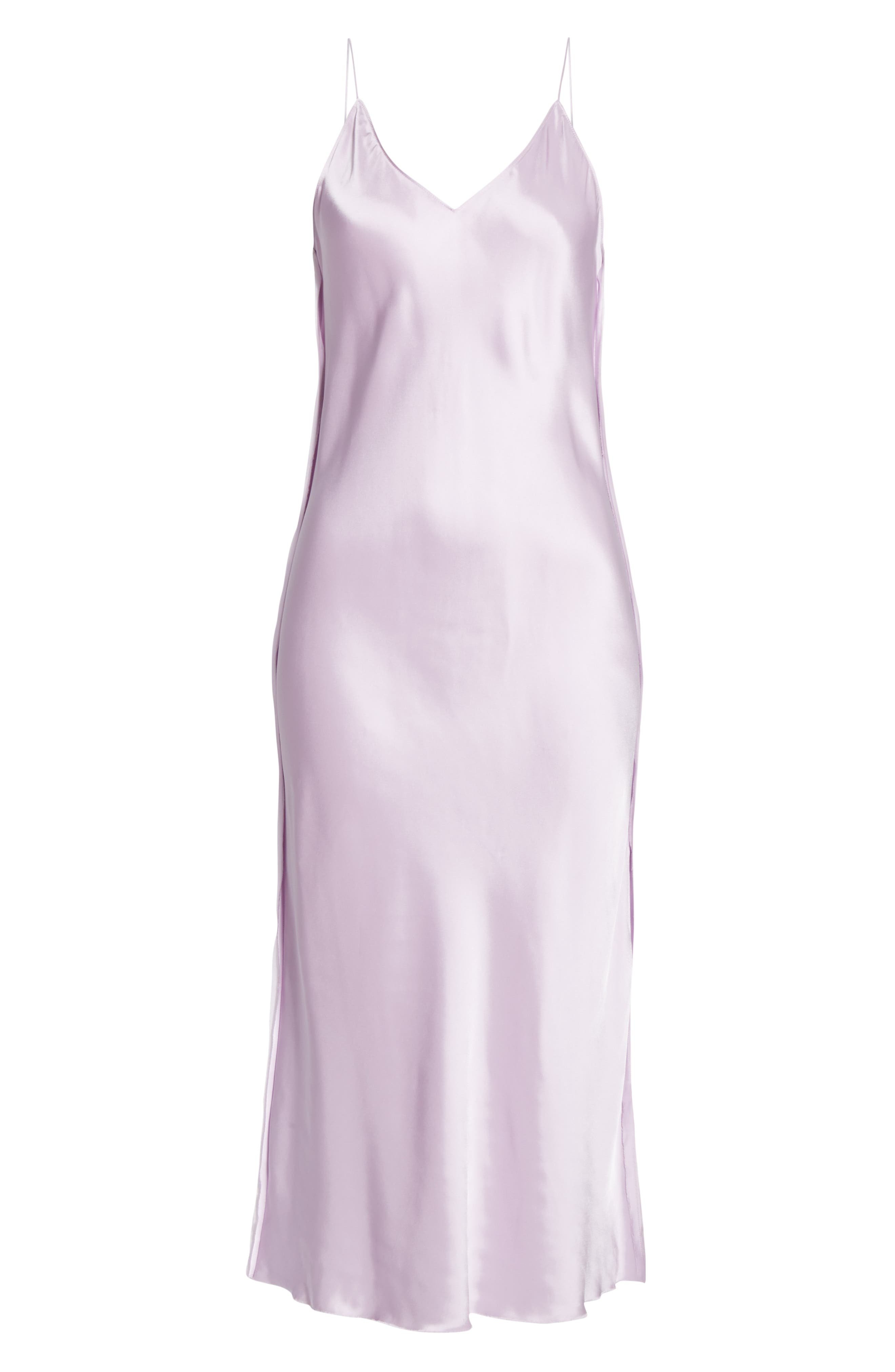 HELMUT LANG, Raw Detail Slipdress, Alternate thumbnail 7, color, LAVENDER