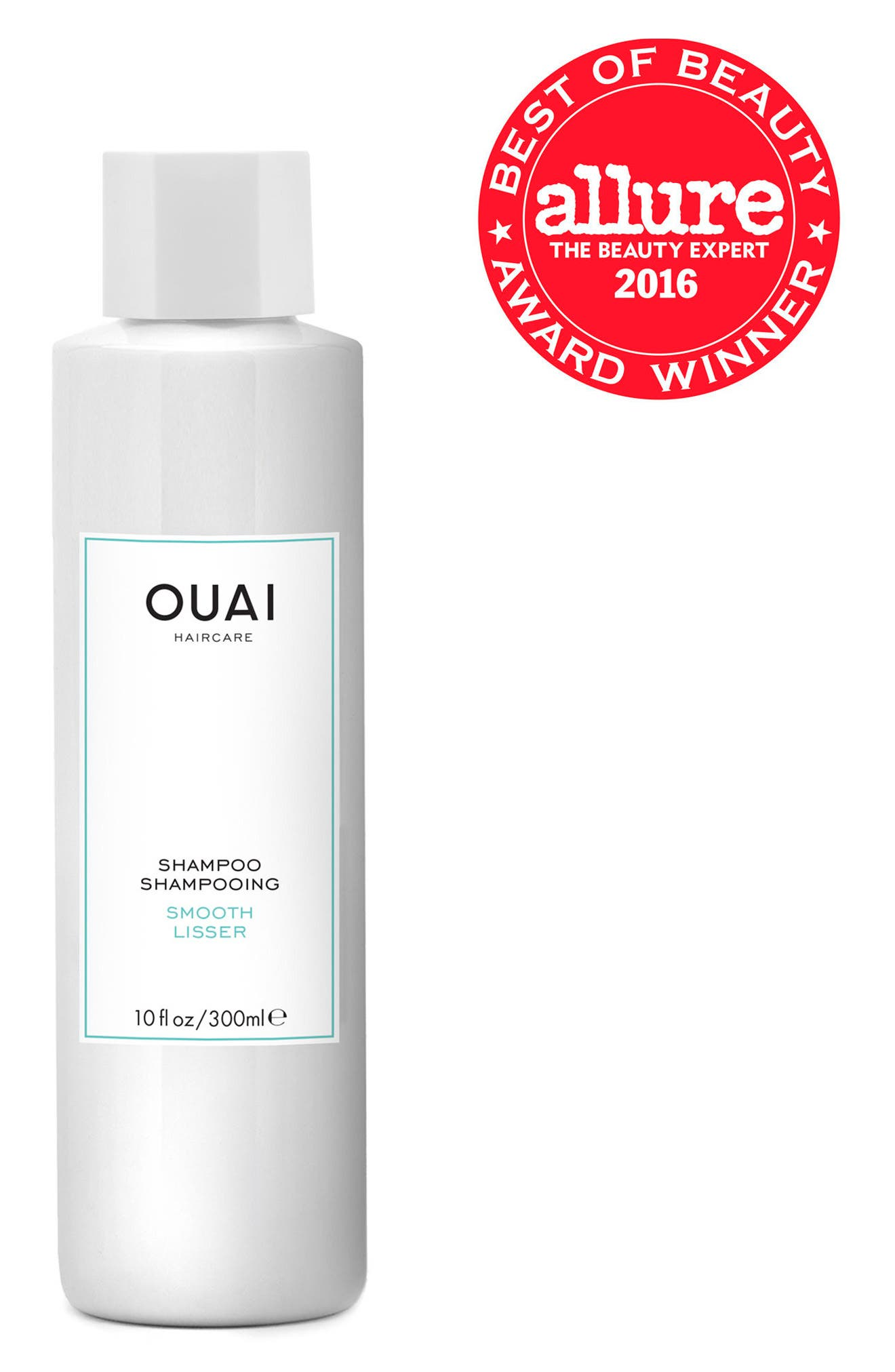 OUAI, Smooth Shampoo, Main thumbnail 1, color, 000