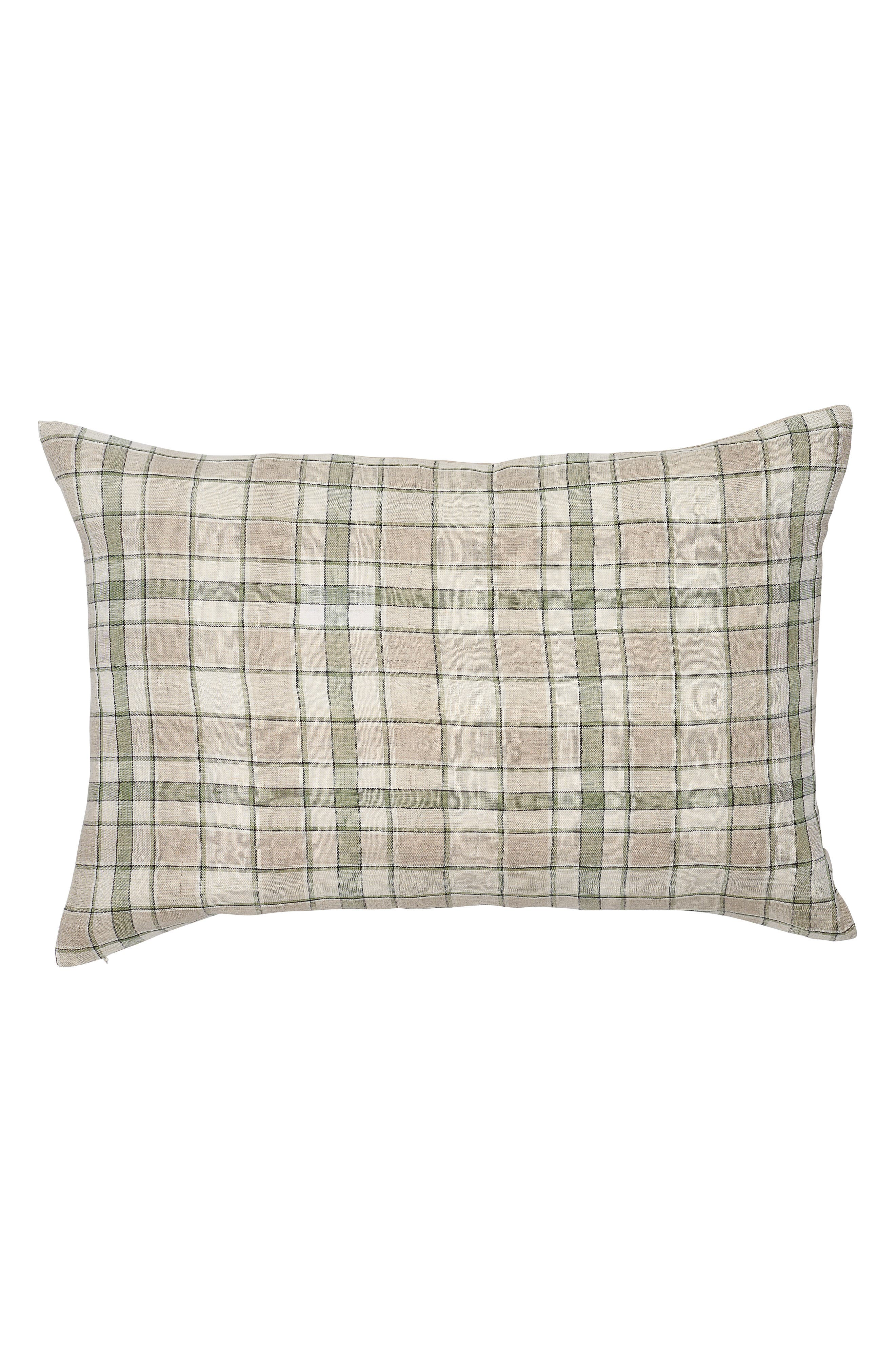 EADIE LIFESTYLE Caddy Scatter Accent Pillow, Main, color, SAGE MULTI