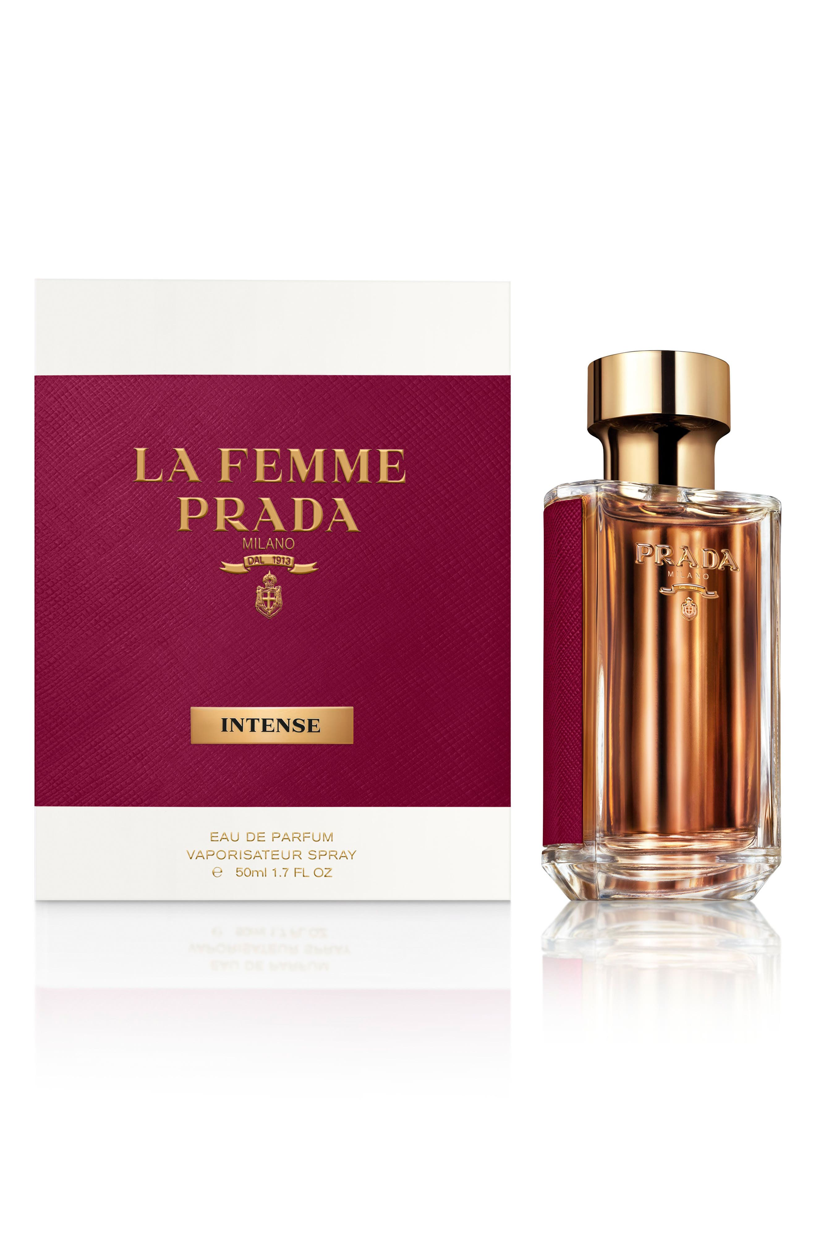 PRADA, La Femme Prada Intense Eau de Parfum, Alternate thumbnail 2, color, NO COLOR