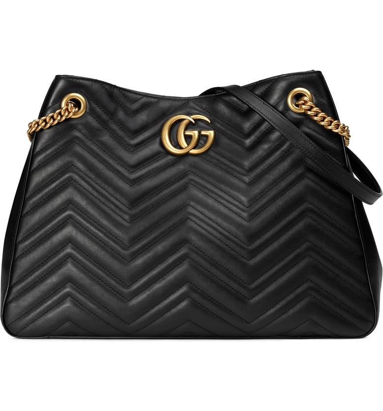 862cd532e95 Gucci GG Marmont Matelassé Leather Shoulder Bag