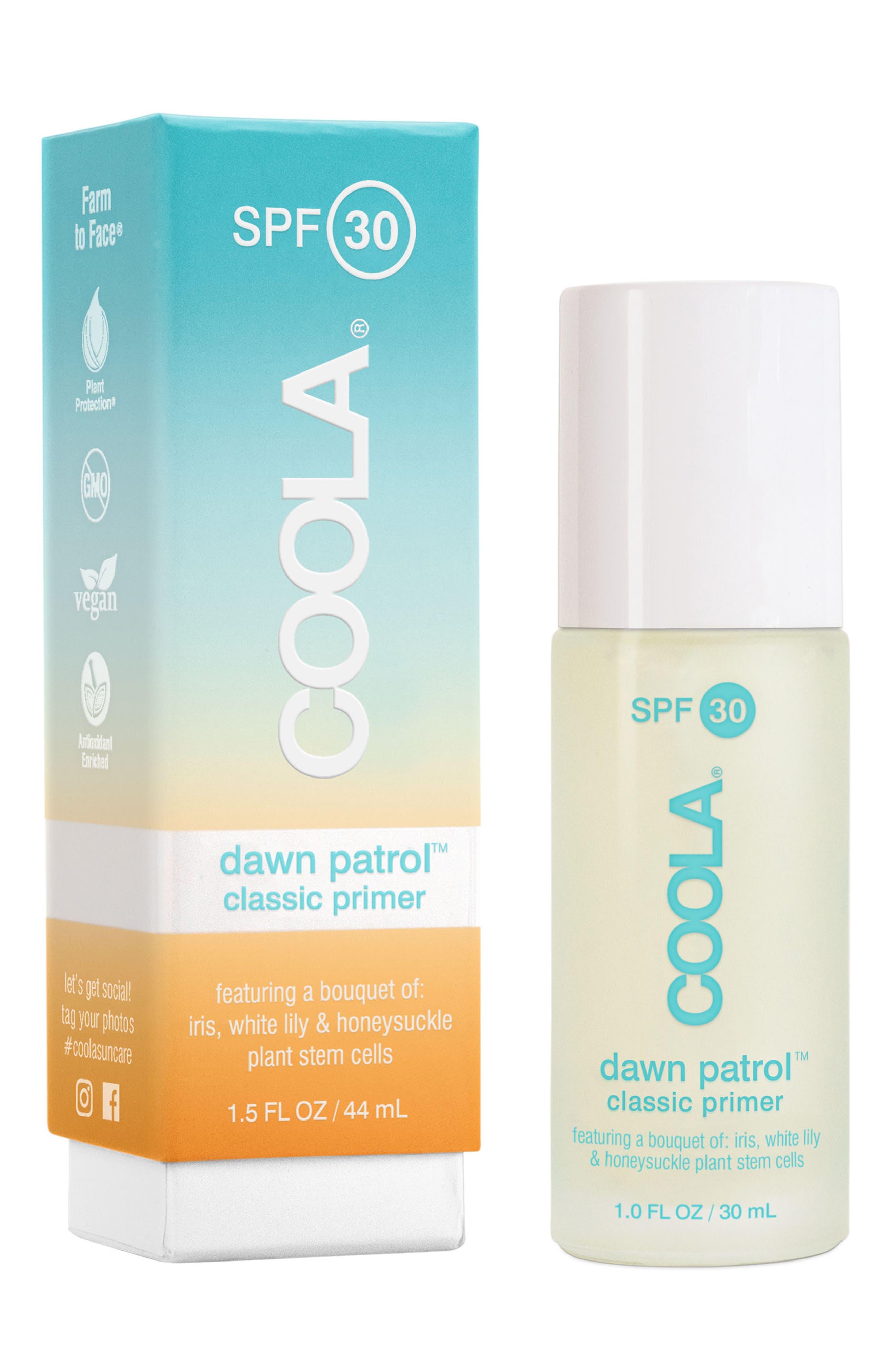 COOLA SUNCARE, COOLA<sup>®</sup> Suncare Dawn Patrol<sup>™</sup> Classic Makeup Primer SPF 30, Alternate thumbnail 5, color, NO COLOR